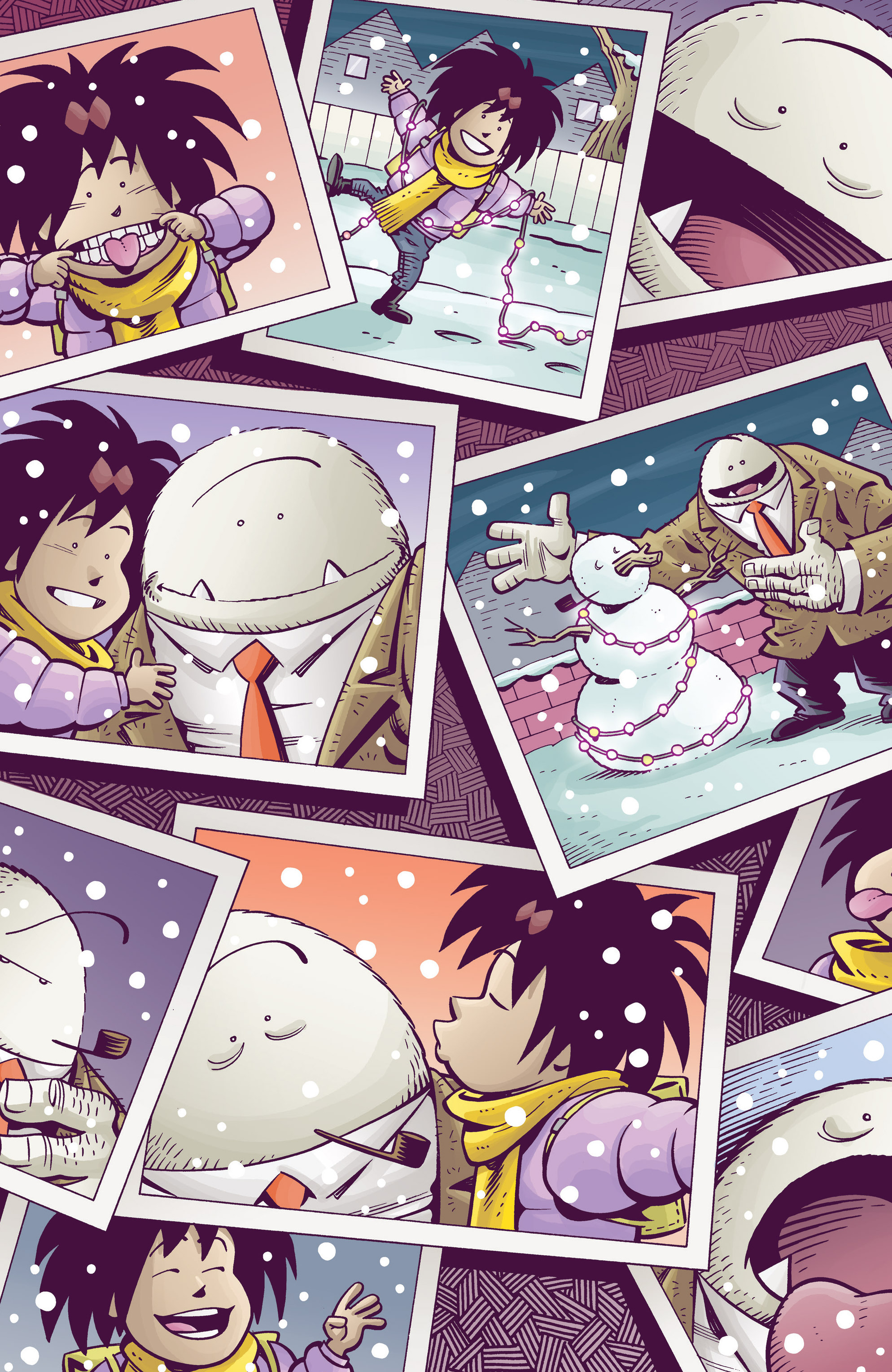 Read online Abigail And The Snowman comic -  Issue #4 - 9