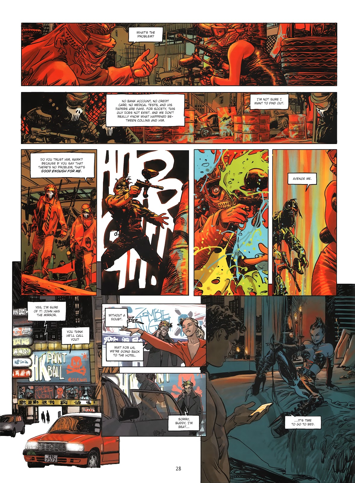 Read online Cutting Edge (2013) comic -  Issue #3 - 26