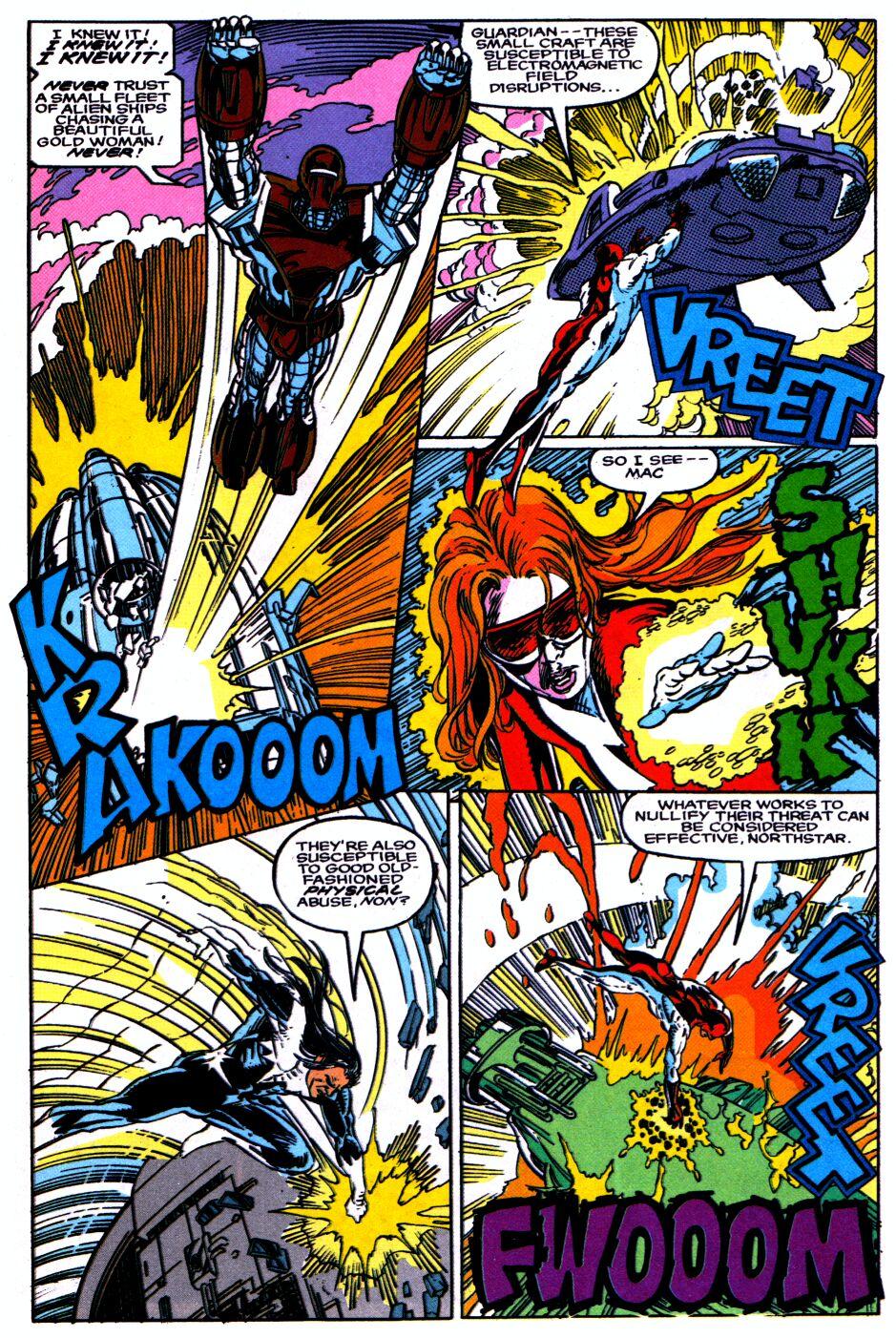 Read online Alpha Flight Special comic -  Issue #1 - 19