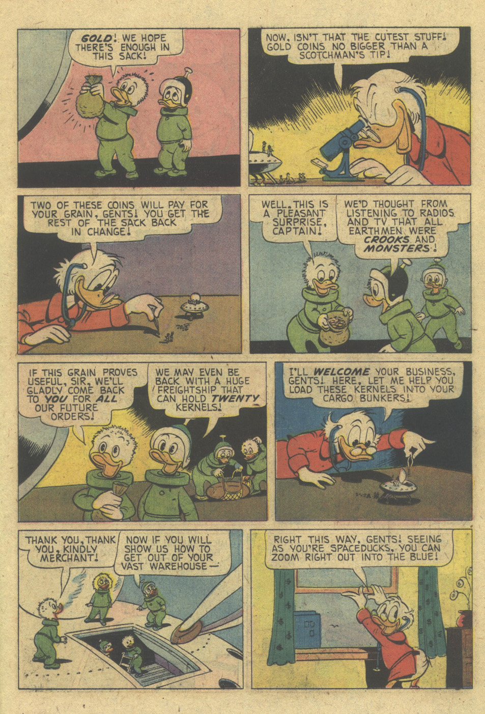 Read online Uncle Scrooge (1953) comic -  Issue #130 - 11