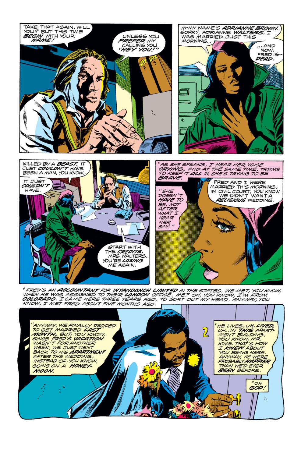 Tomb of Dracula (1972) issue 25 - Page 3