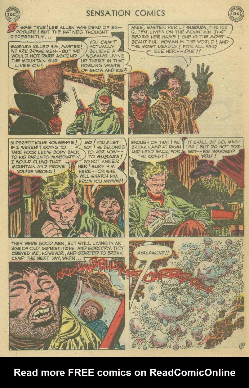 Read online Sensation (Mystery) Comics comic -  Issue #107 - 27