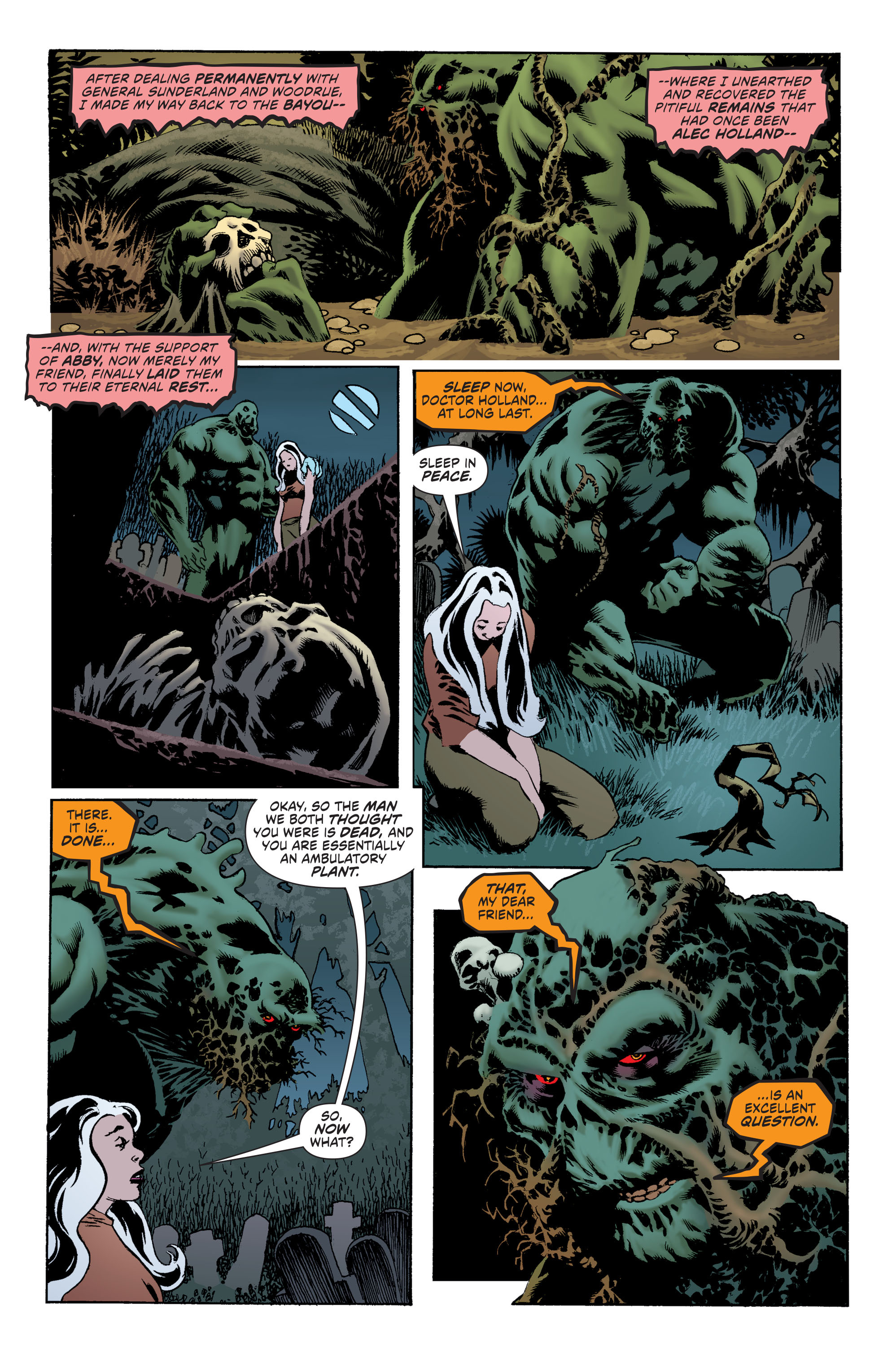 Read online Convergence Swamp Thing comic -  Issue #1 - 7