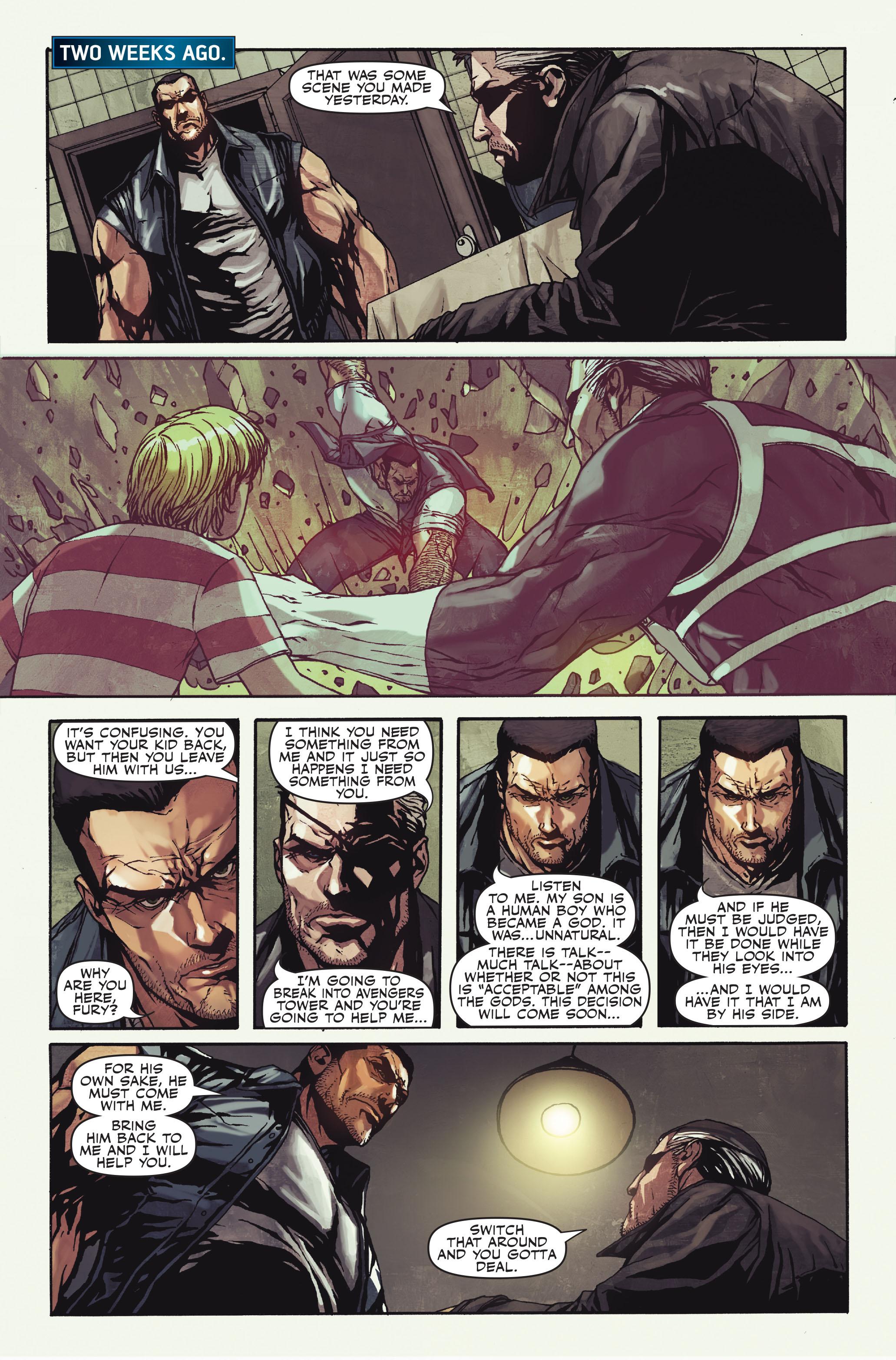 Read online Secret Warriors comic -  Issue #10 - 15