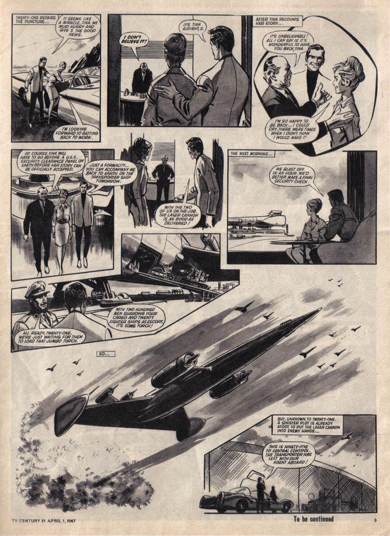 TV Century 21 (TV 21) issue 115 - Page 3
