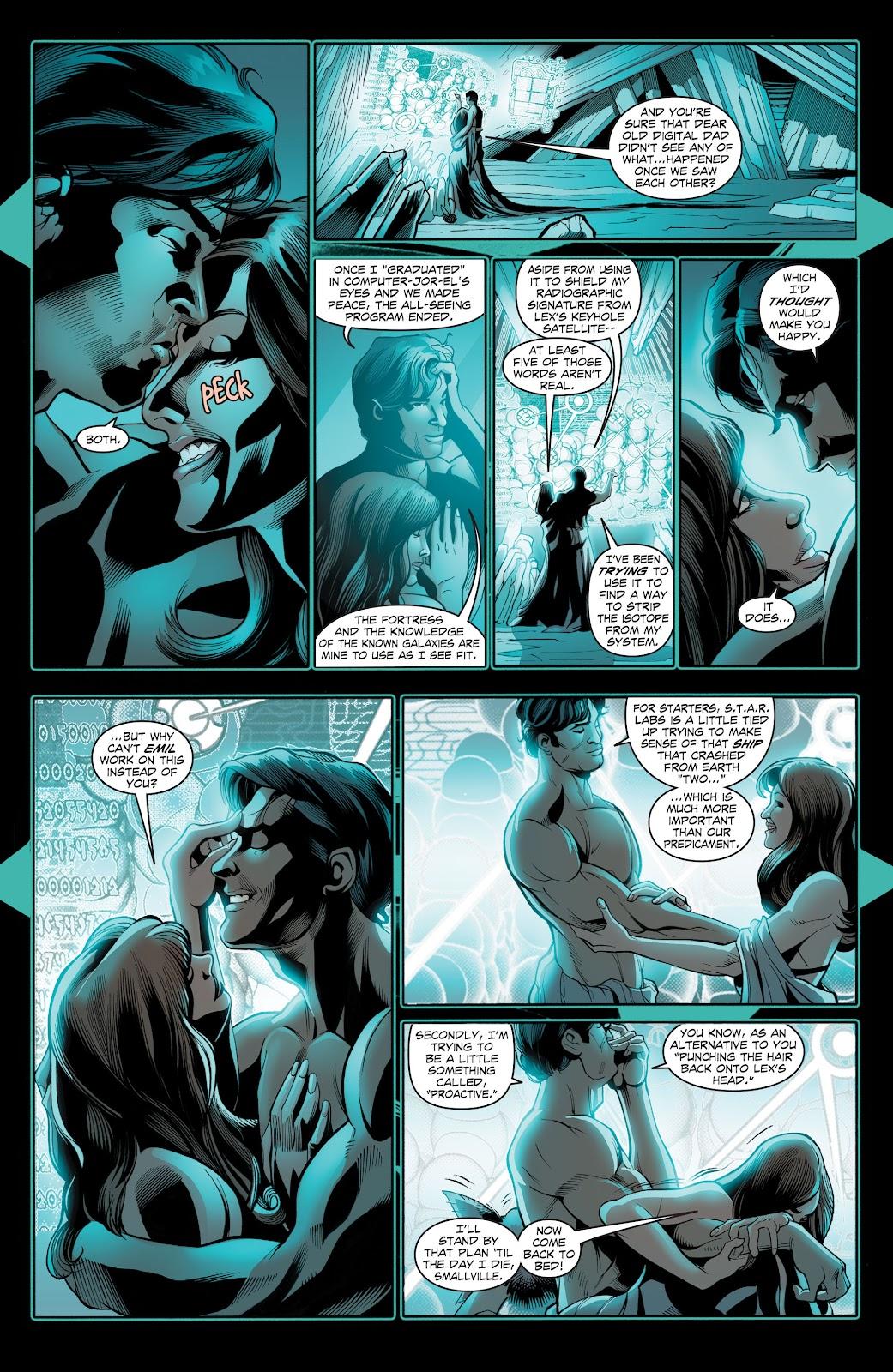 Read online Smallville Season 11 [II] comic -  Issue # TPB 2 - 8