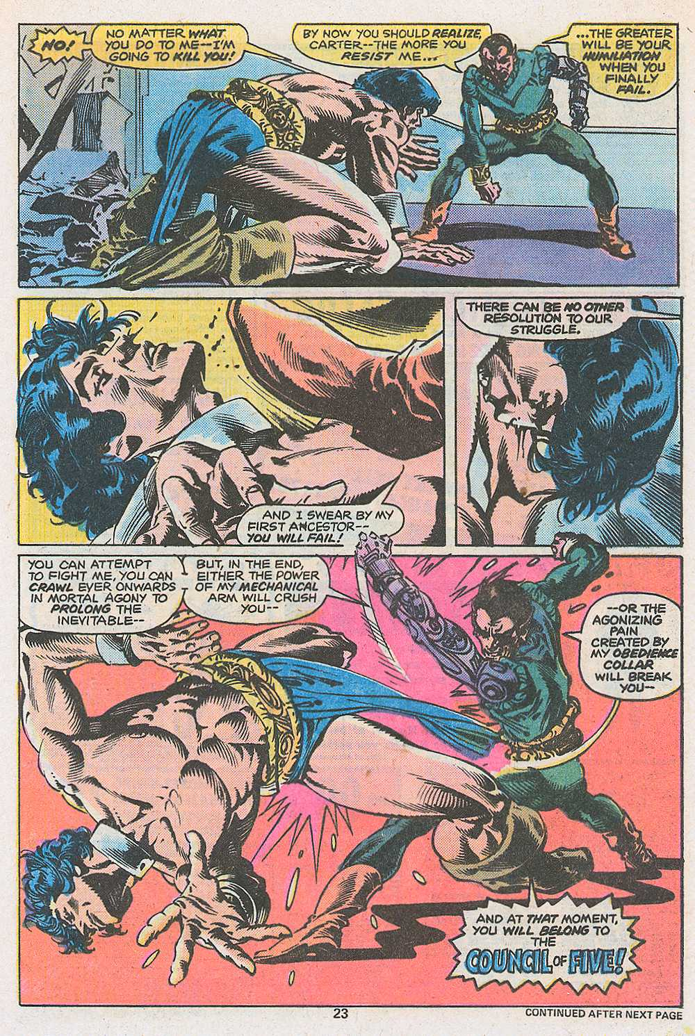 John Carter Warlord of Mars issue 3 - Page 25