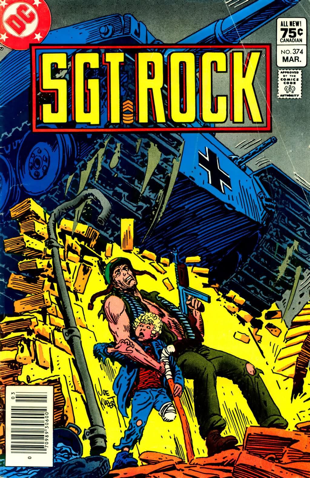 Read online Sgt. Rock comic -  Issue #374 - 1