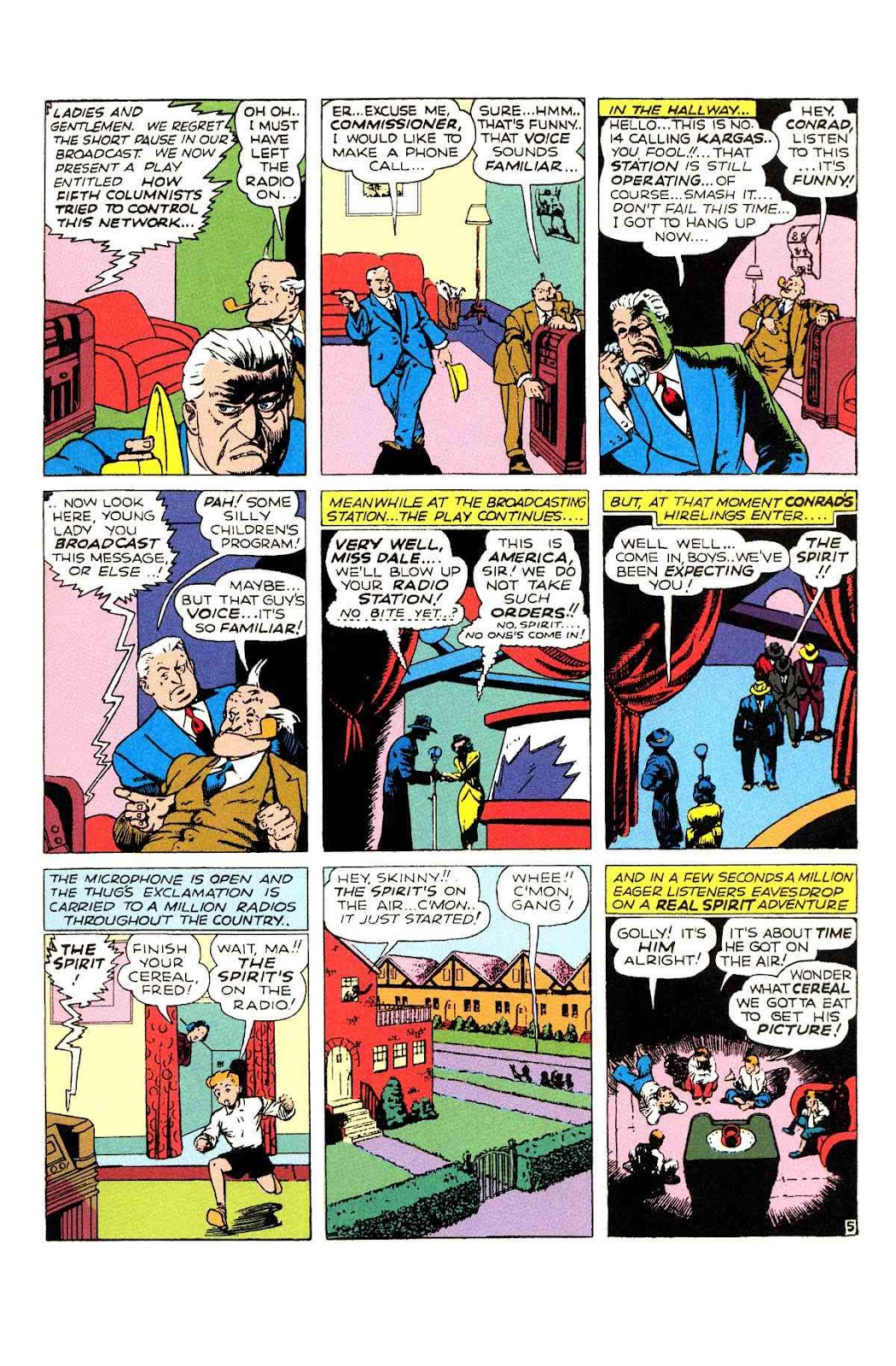 Read online Will Eisner's The Spirit Archives comic -  Issue # TPB 2 (Part 1) - 53