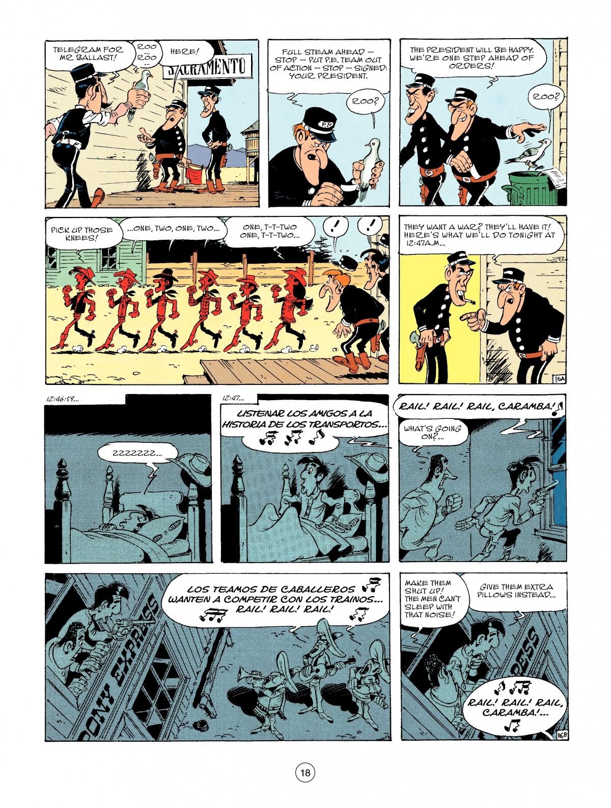Read online A Lucky Luke Adventure comic -  Issue #46 - 18