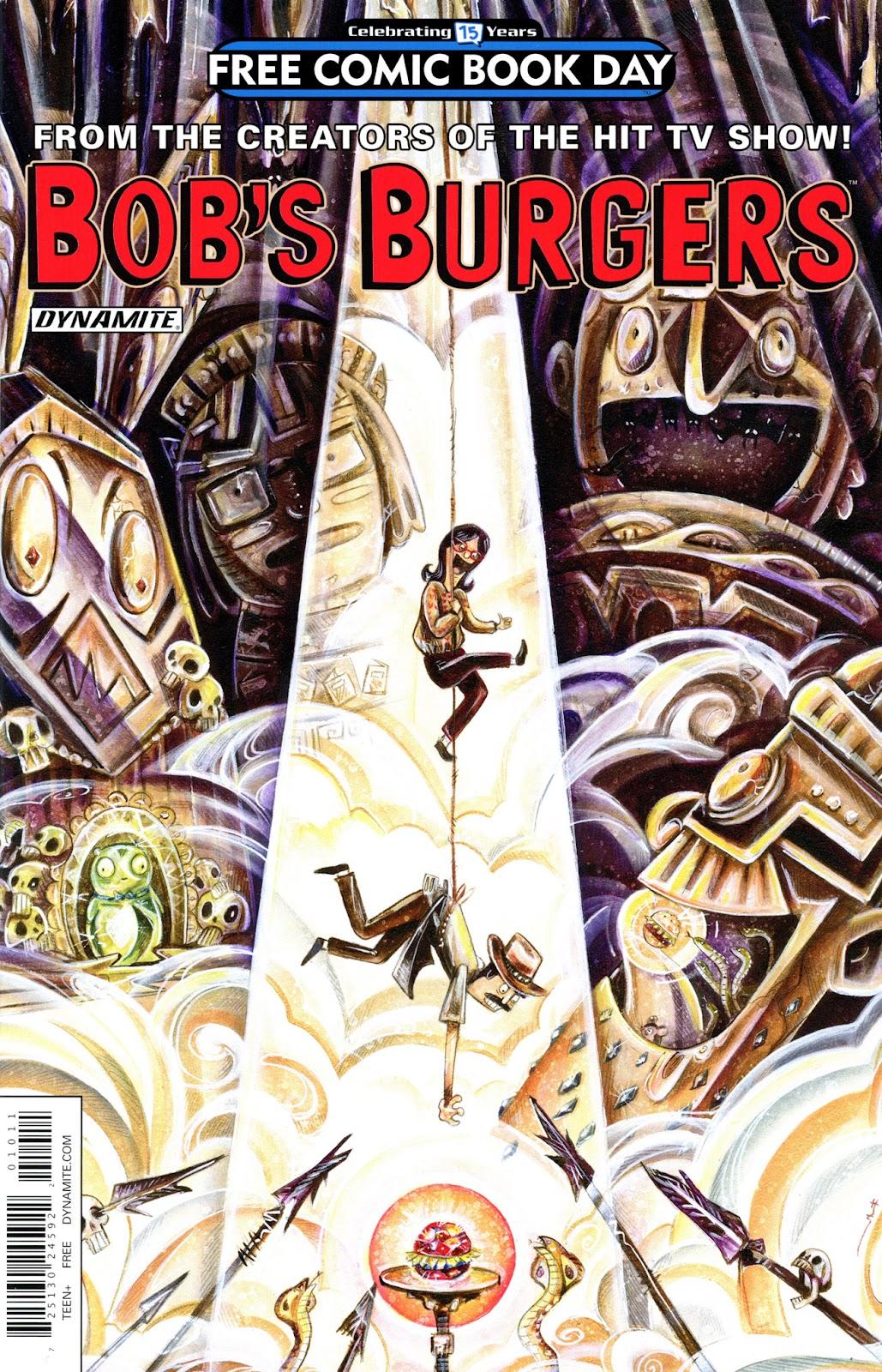 Bobs Burgers - FCBD 2016 Full Page 1