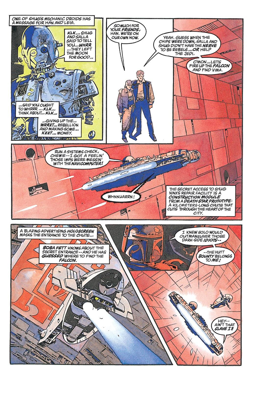 Read online Star Wars: Dark Empire Trilogy comic -  Issue # TPB (Part 2) - 96