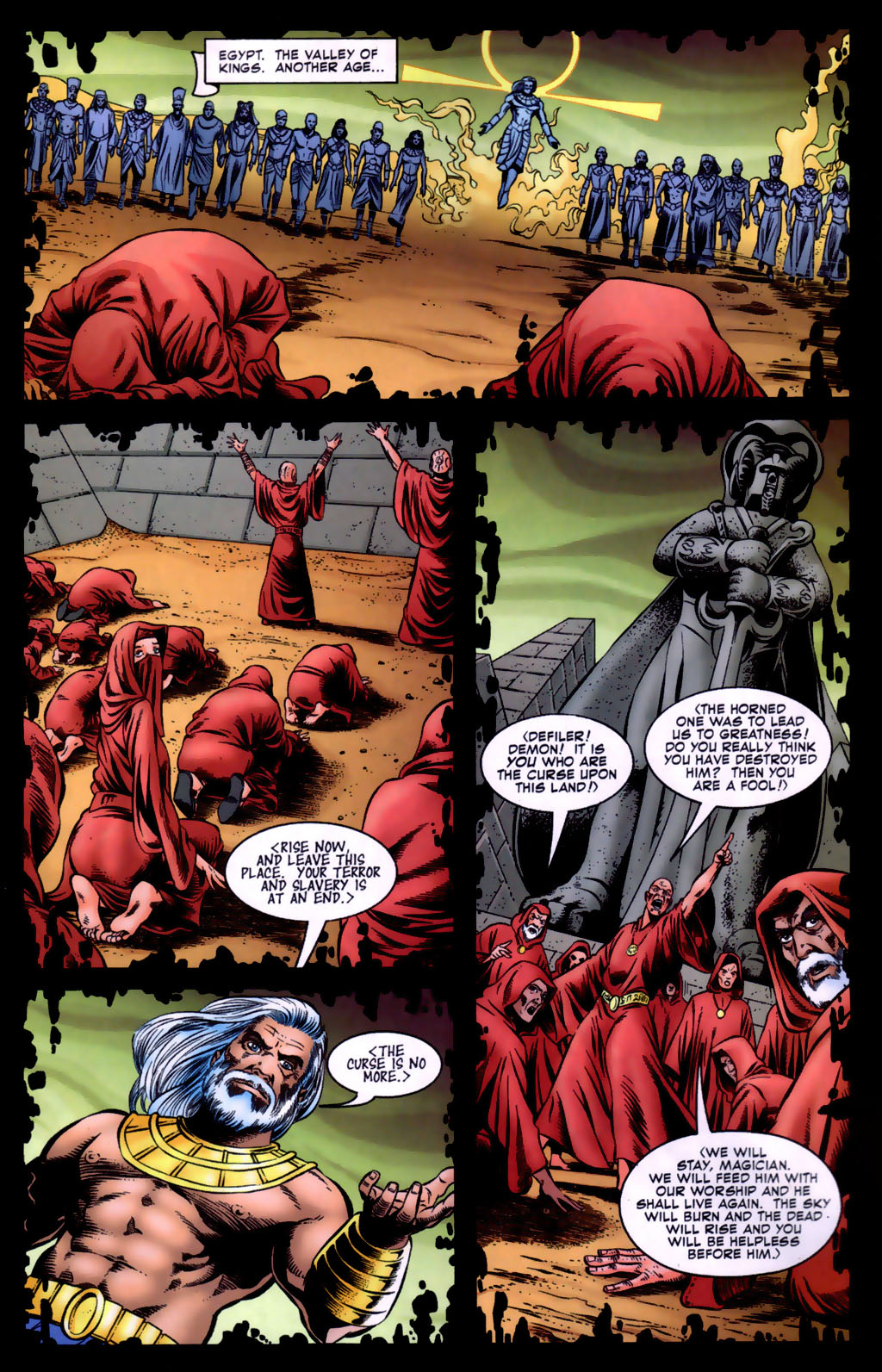 Read online Doctor Fate (2003) comic -  Issue #5 - 2