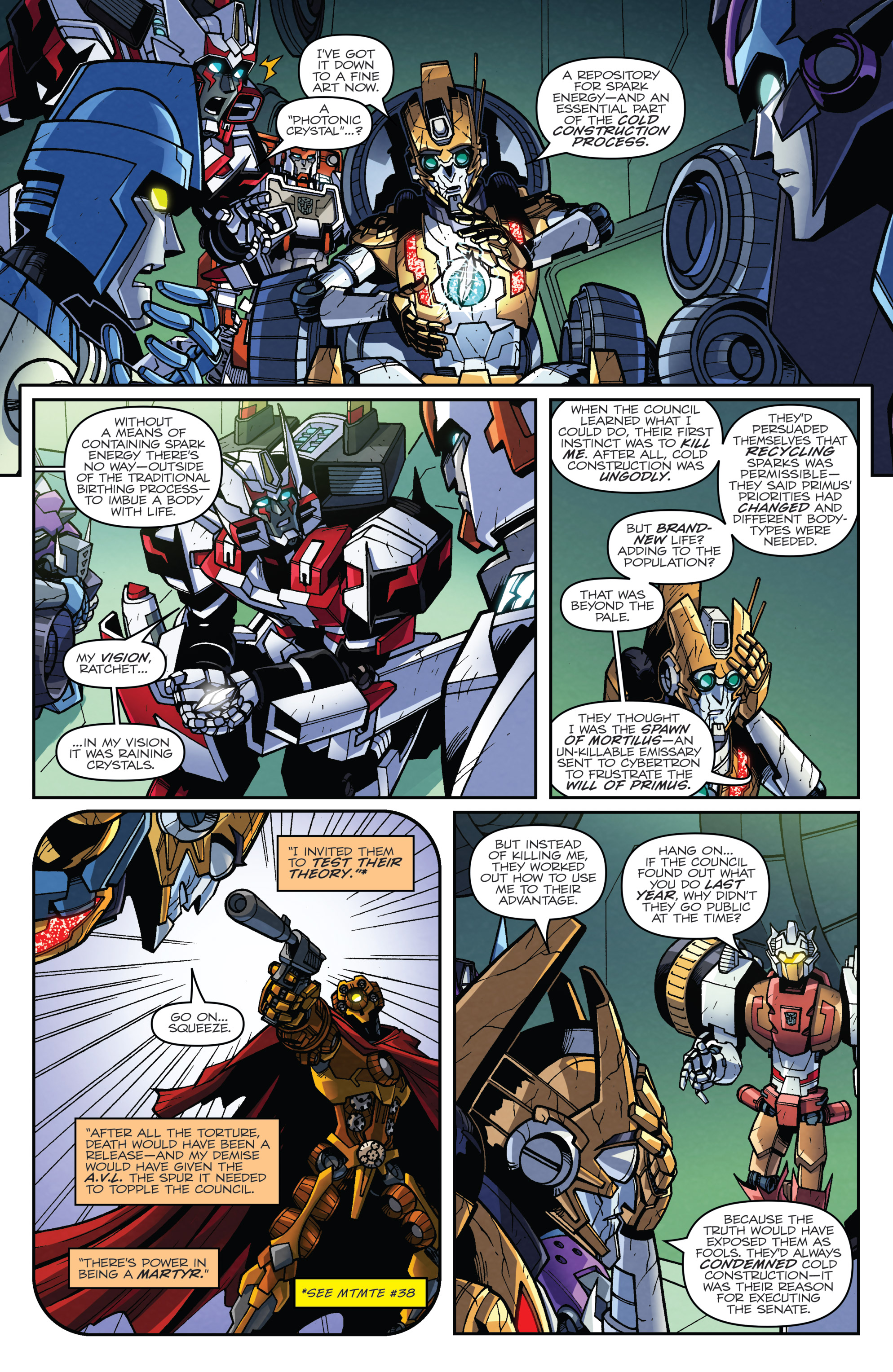 Read online Transformers: Lost Light comic -  Issue #5 - 14