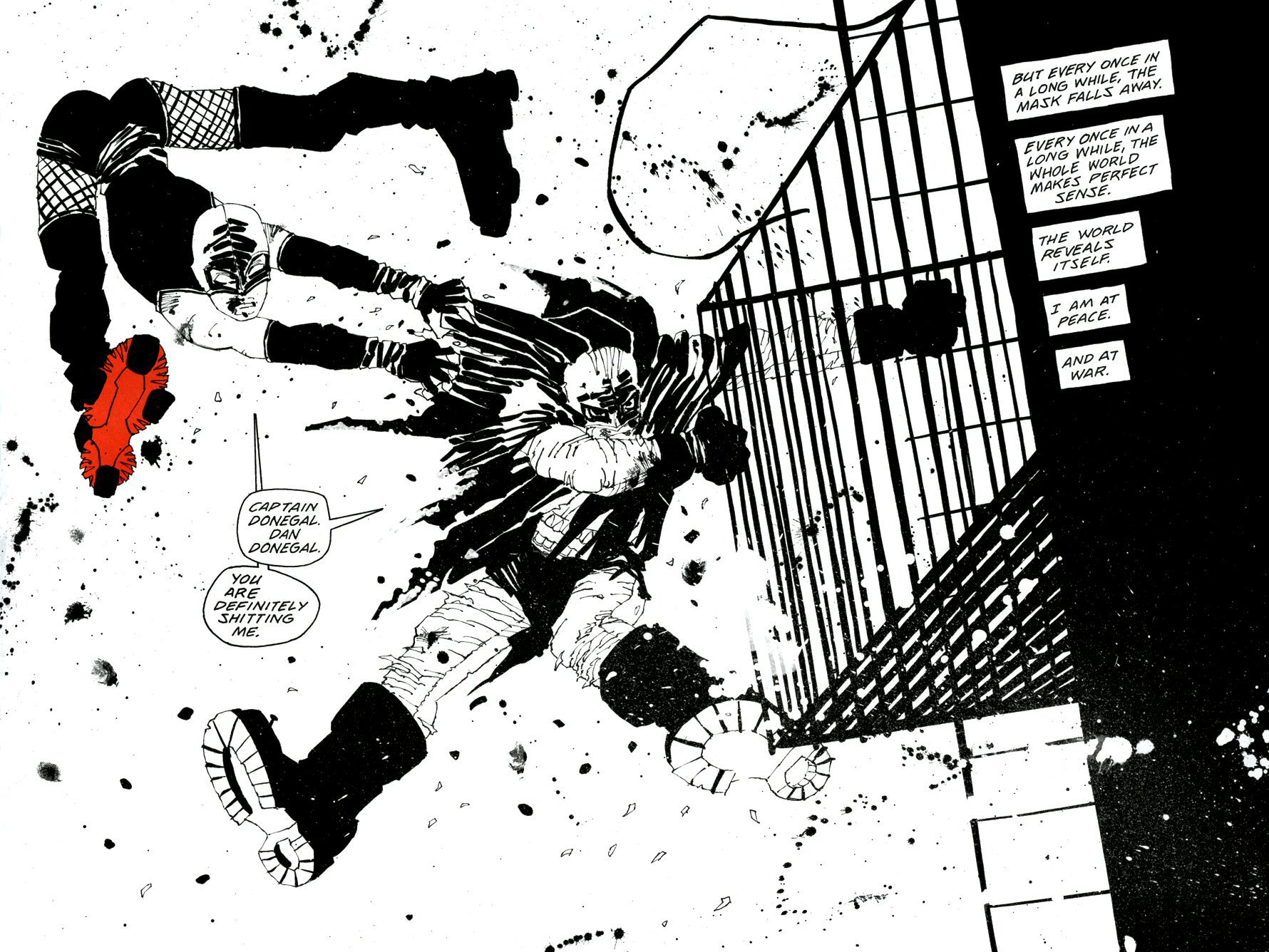 Read online Frank Miller's Holy Terror comic -  Issue # TPB - 70