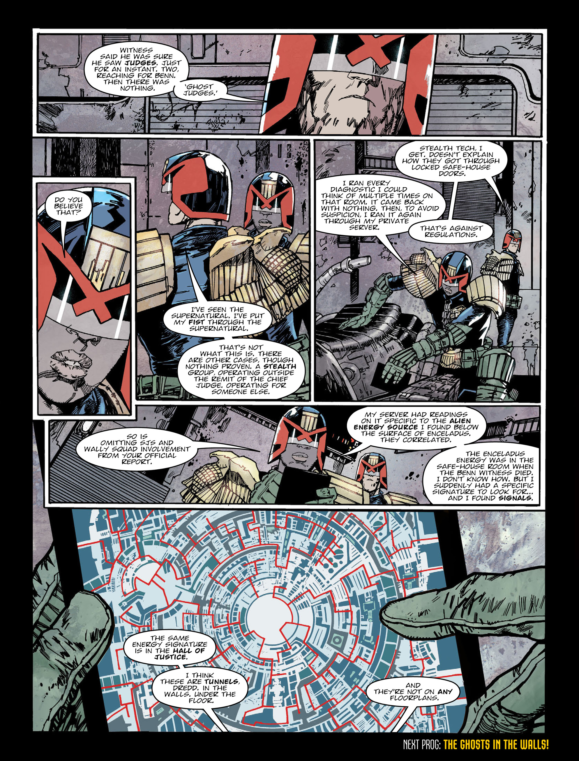 Read online 2000 AD comic -  Issue #2005 - 8