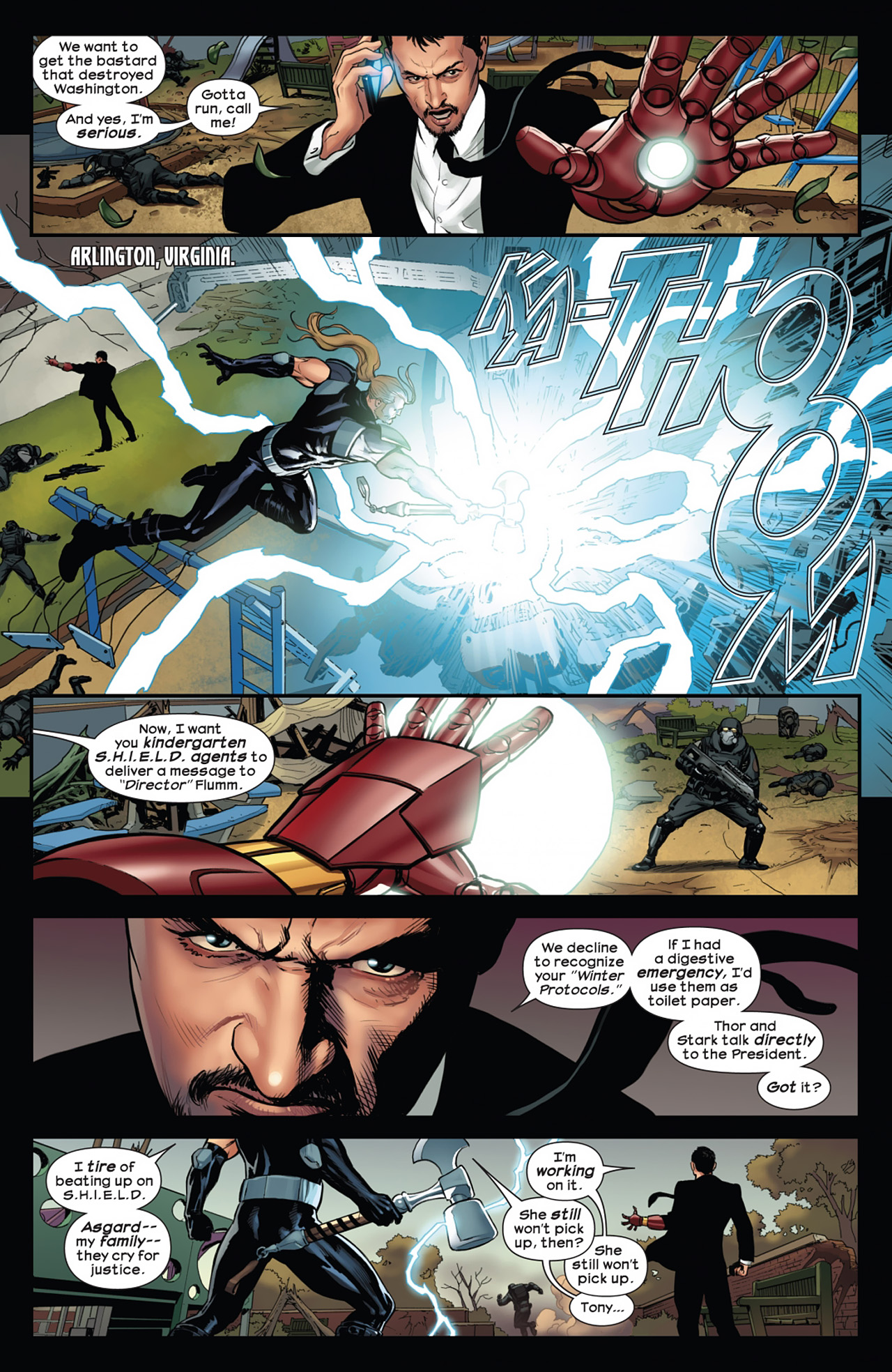 Read online Ultimate Comics Ultimates comic -  Issue #11 - 4