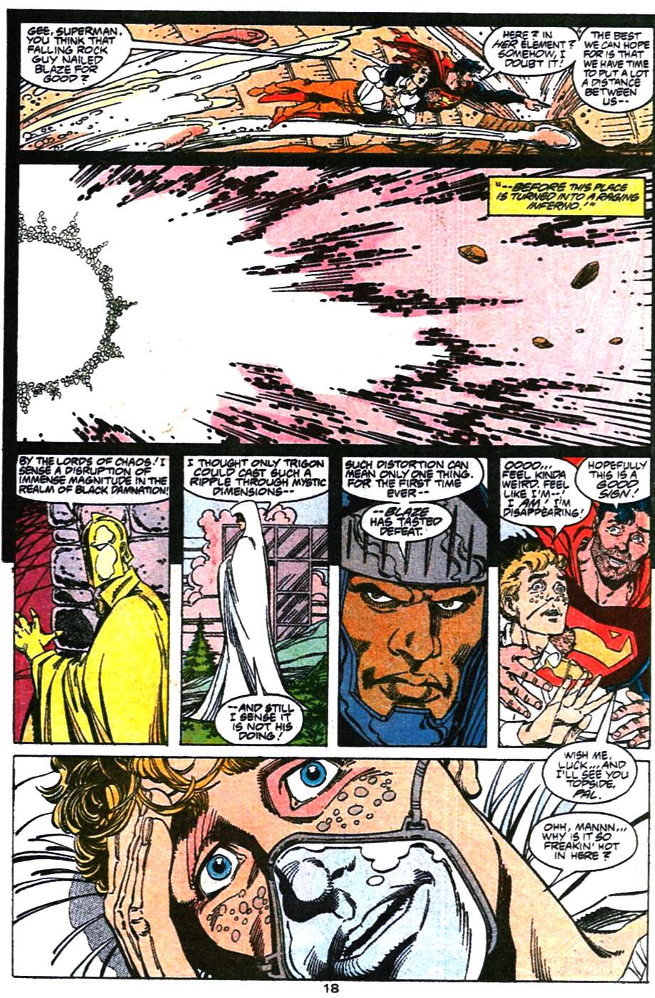 Read online Adventures of Superman (1987) comic -  Issue #470 - 19