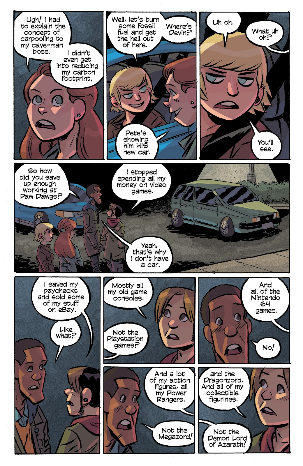 Read online Cellies comic -  Issue #7 - 8