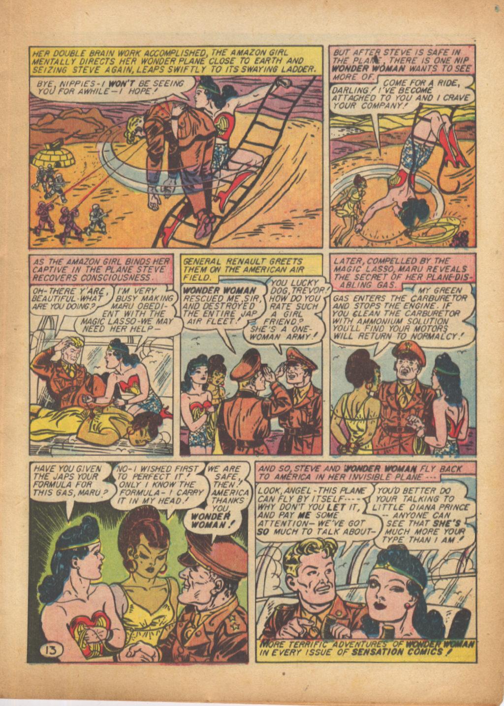 Read online Sensation (Mystery) Comics comic -  Issue #24 - 15