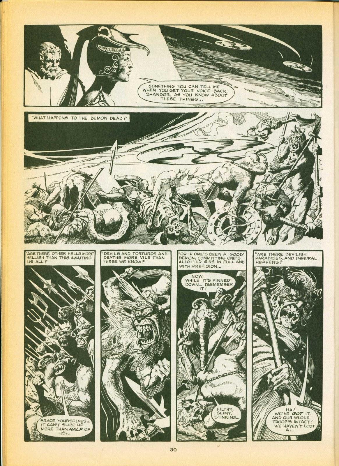Warrior Issue #7 #8 - English 30