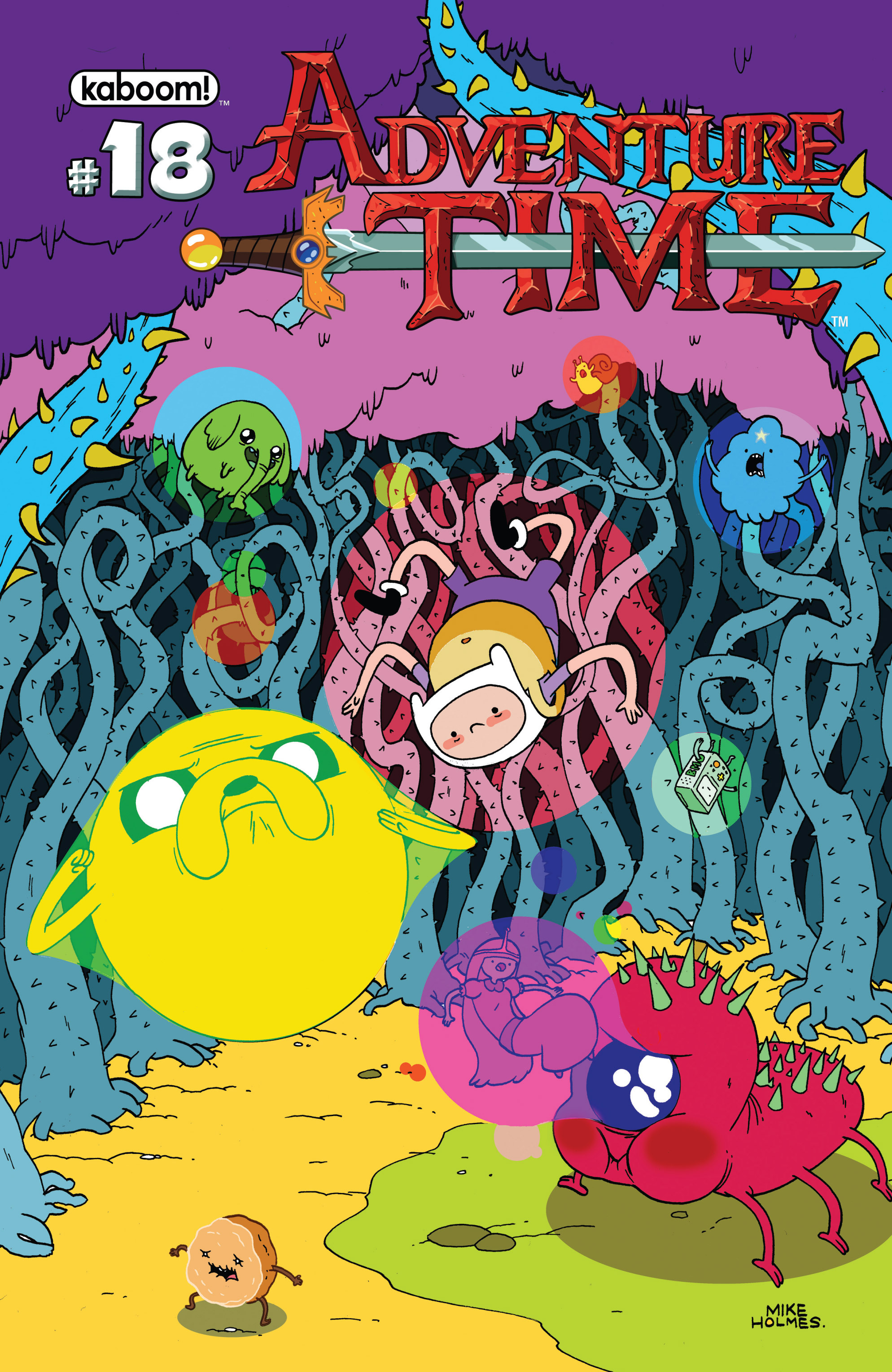 Read online Adventure Time comic -  Issue #18 - 1