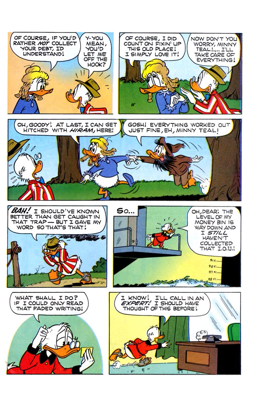 Read online Uncle Scrooge (1953) comic -  Issue #289 - 27