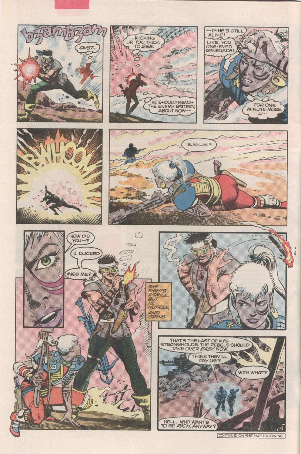 Read online Atari Force (1984) comic -  Issue #2 - 6