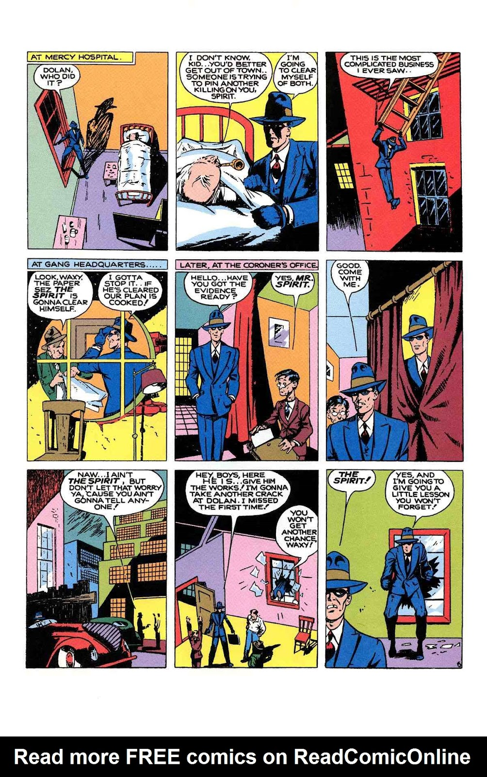 Read online Will Eisner's The Spirit Archives comic -  Issue # TPB 1 (Part 2) - 40