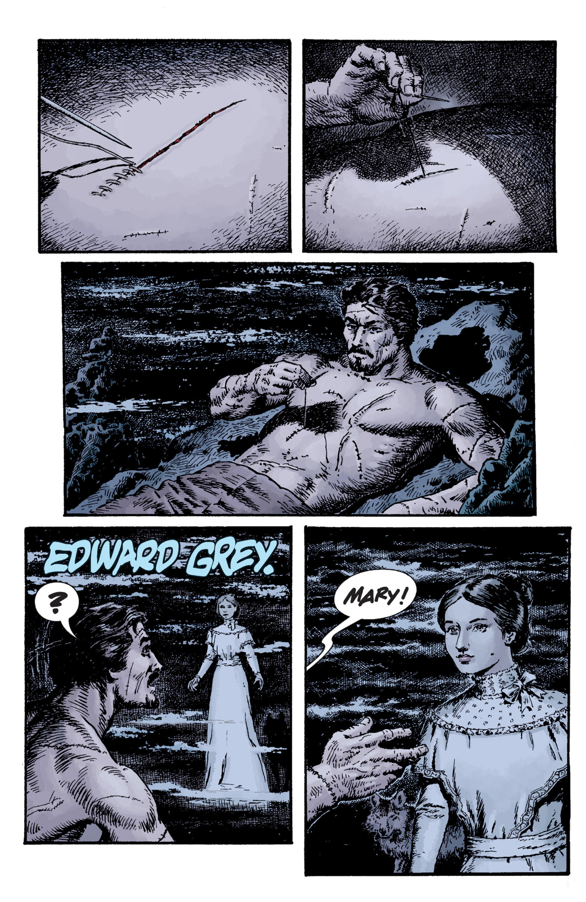 Read online Sir Edward Grey, Witchfinder: Lost and Gone Forever comic -  Issue # TPB - 73