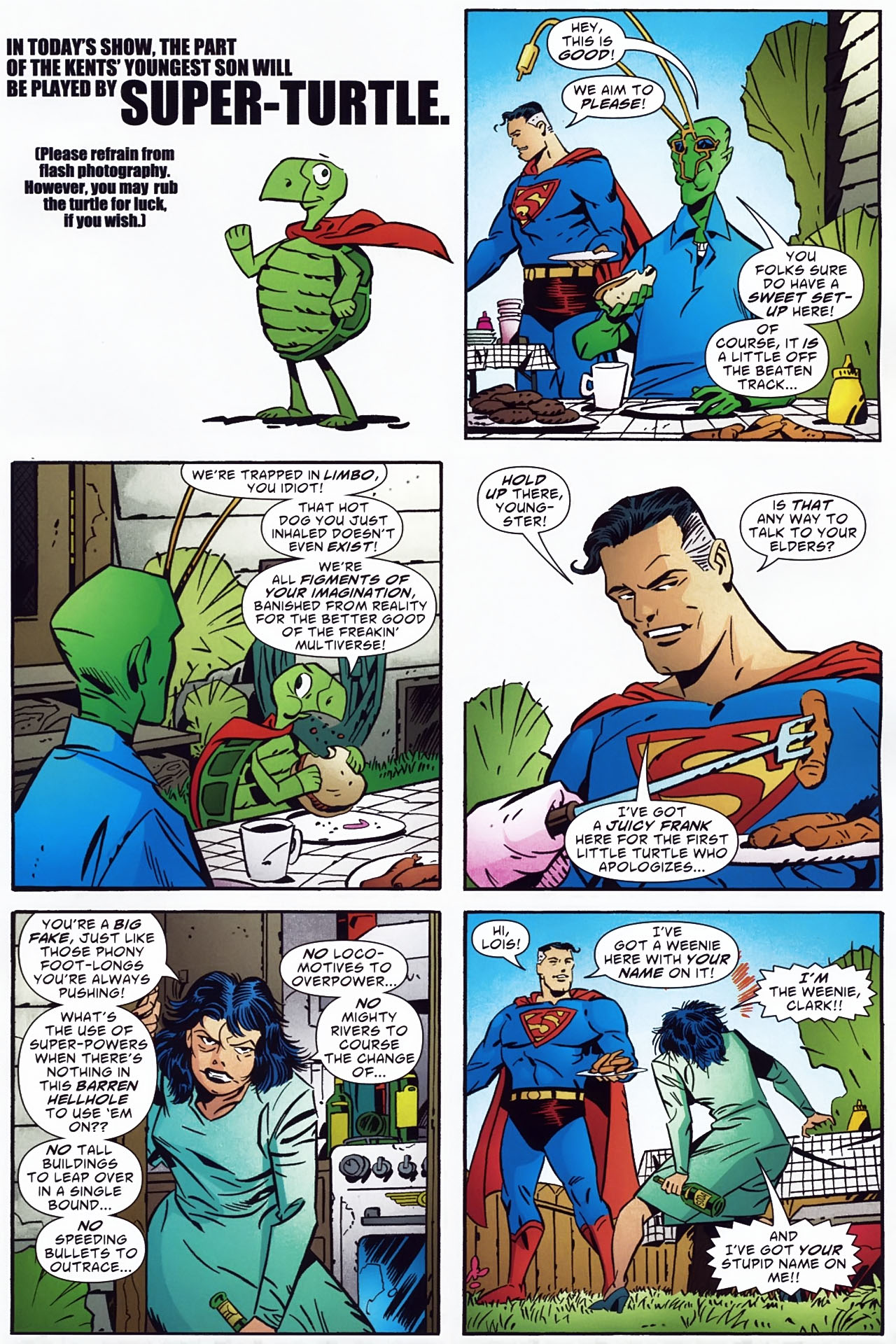 Read online Ambush Bug: Year None comic -  Issue #3 - 9