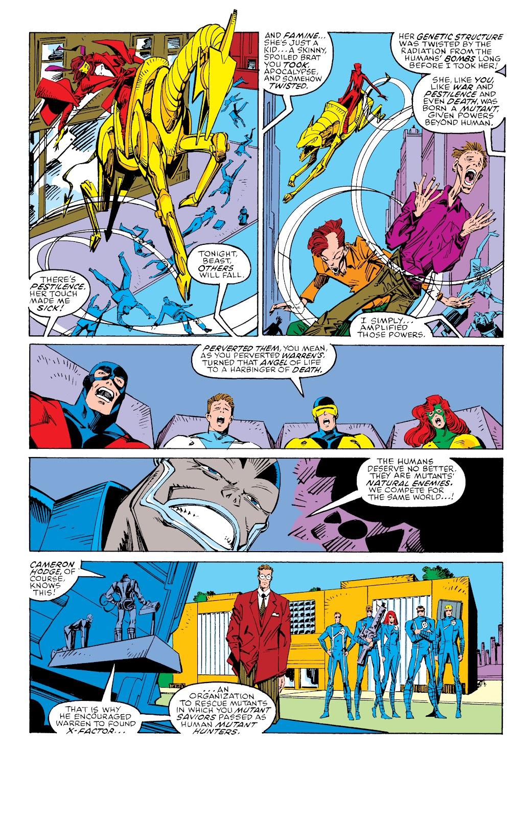 Read online X-Men Milestones: Fall of the Mutants comic -  Issue # TPB (Part 3) - 7