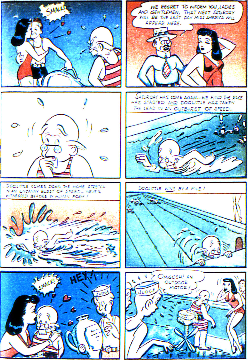 Read online Adventure Comics (1938) comic -  Issue #42 - 35