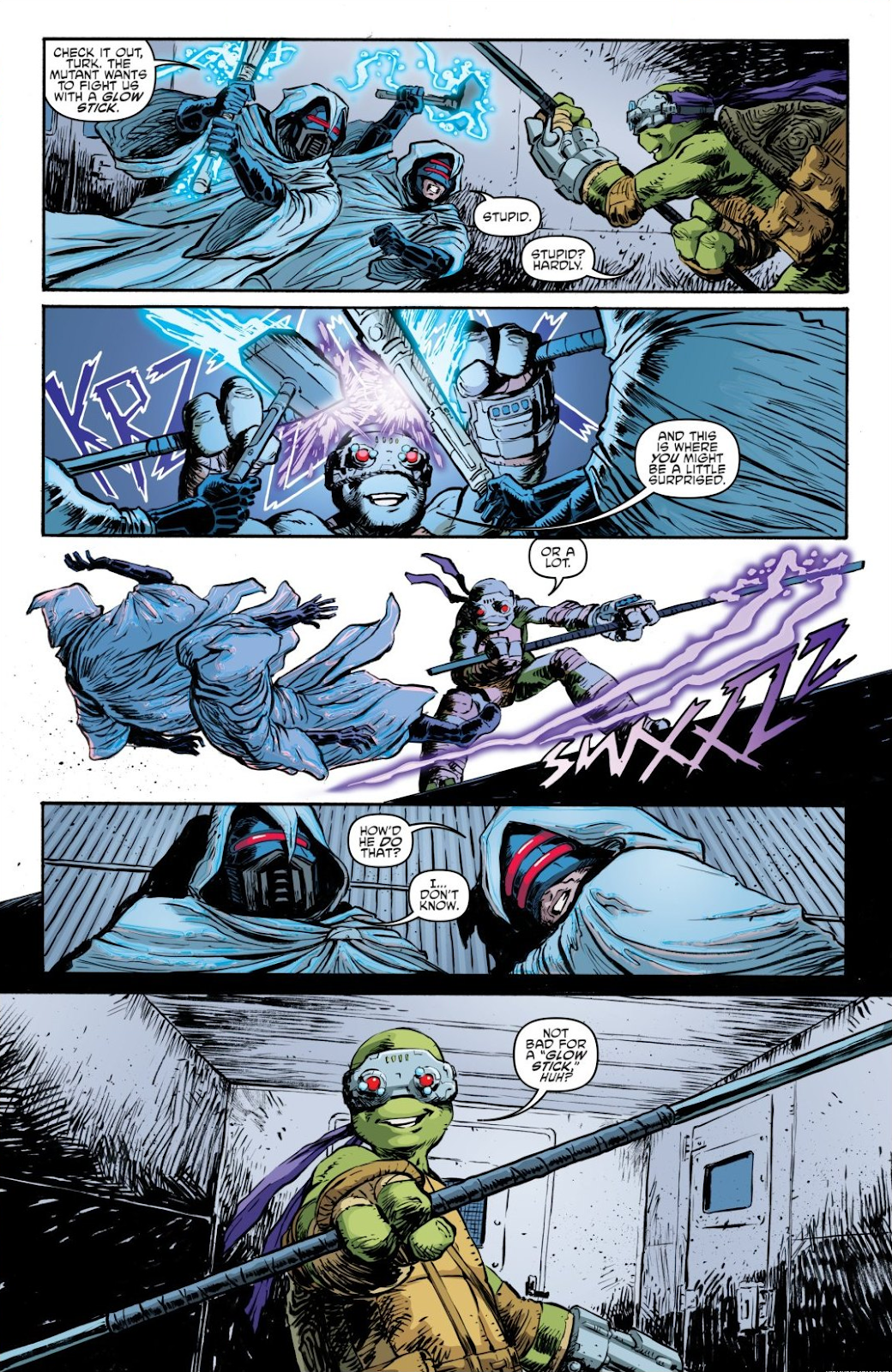 Read online Teenage Mutant Ninja Turtles: The IDW Collection comic -  Issue # TPB 7 (Part 3) - 31