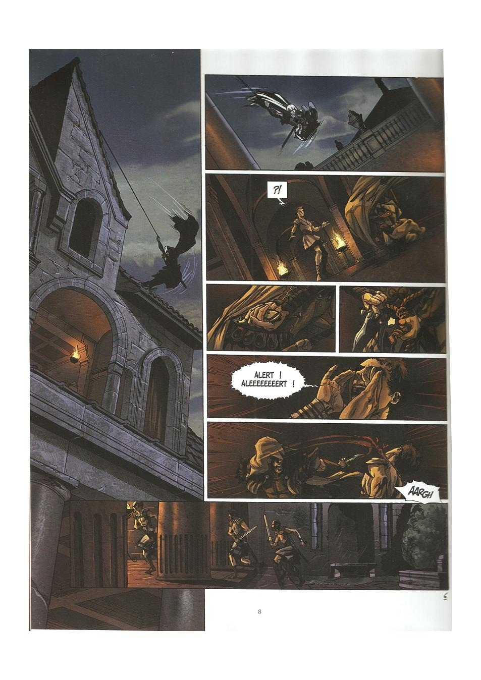 Read online Assassin's Creed (2009) comic -  Issue #3 - 8