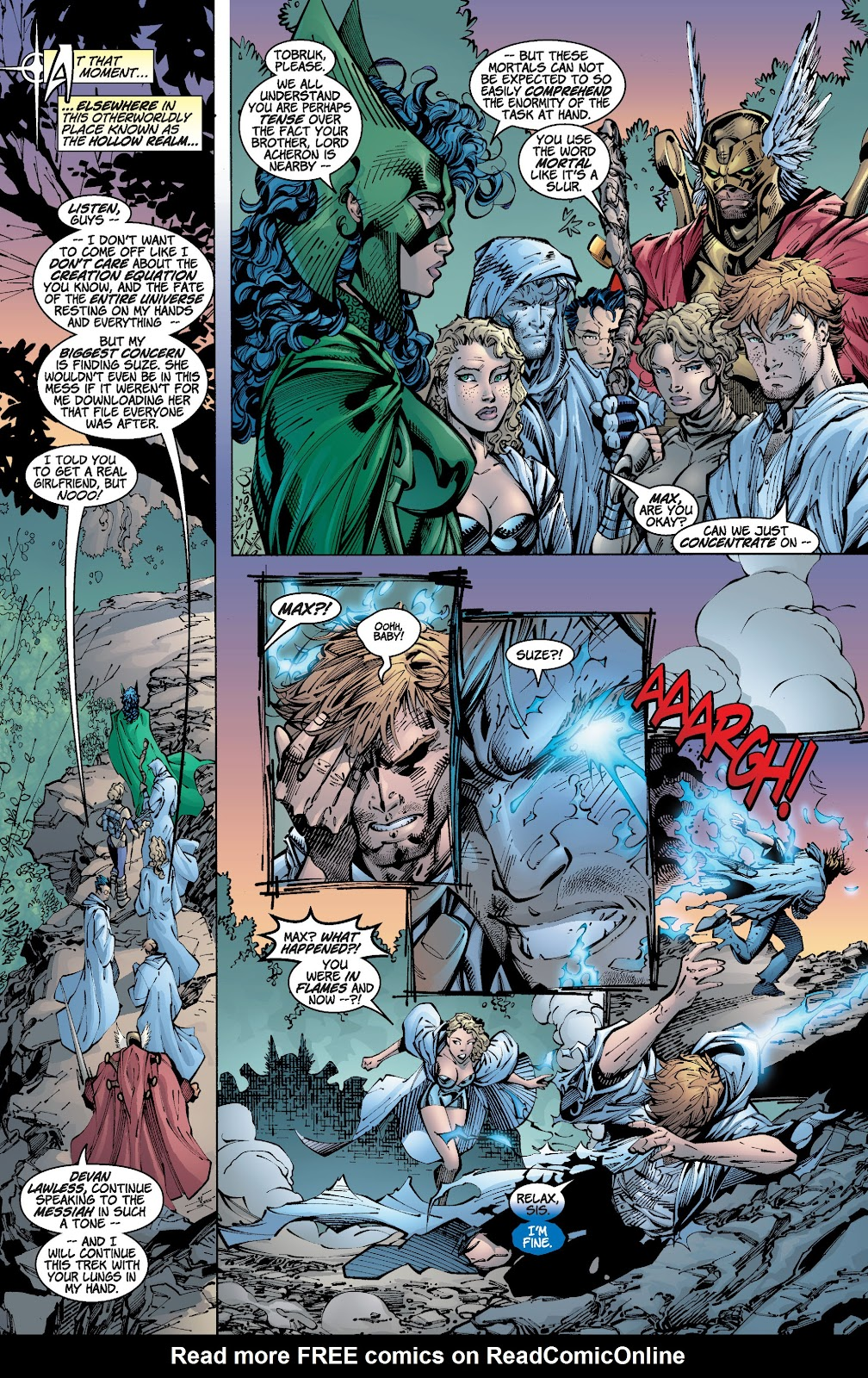 Read online Divine Right comic -  Issue # _TPB The Adventures of Max Faraday (Part 2) - 89