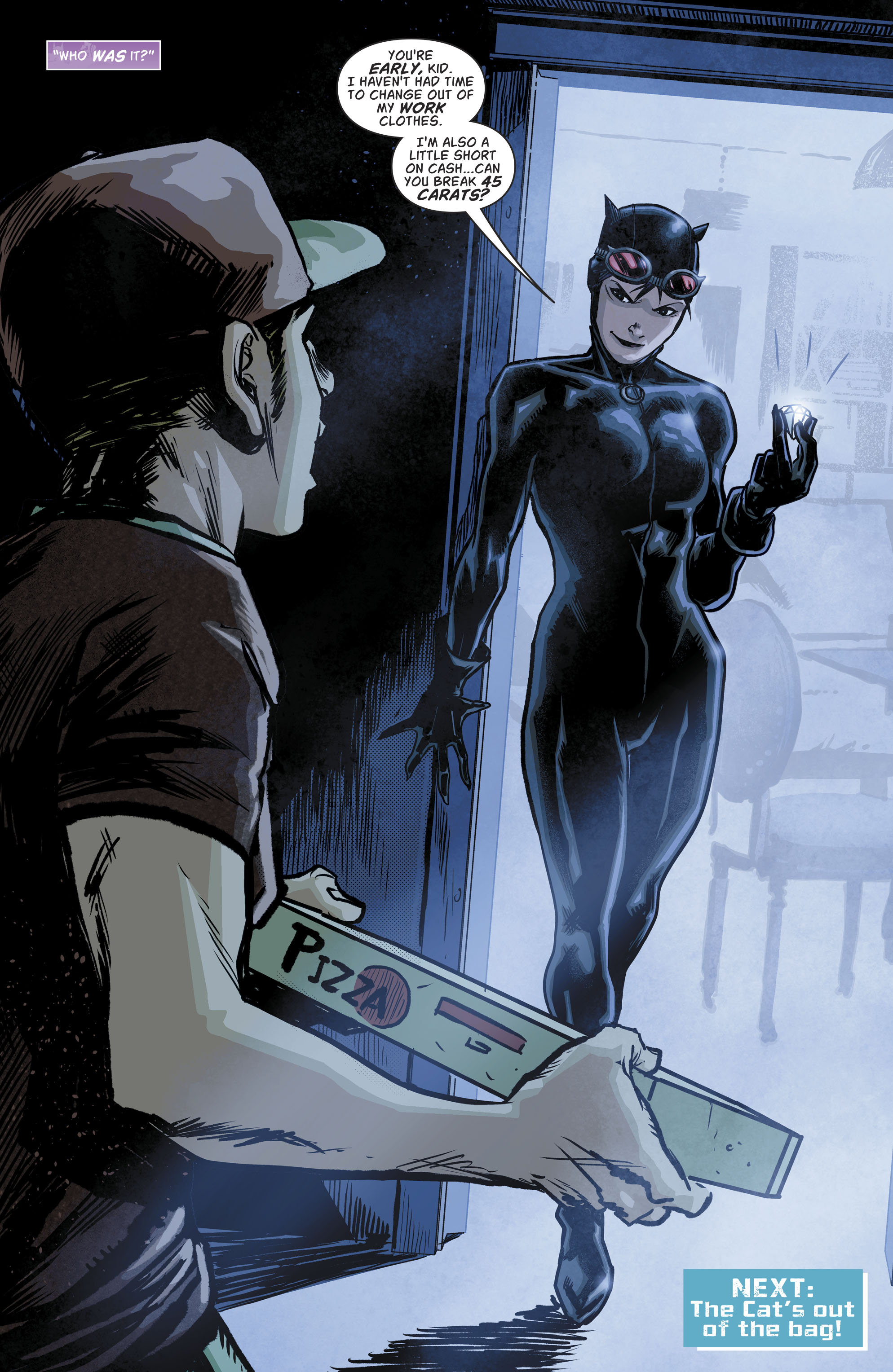 Read online Batgirl and the Birds of Prey comic -  Issue #11 - 22
