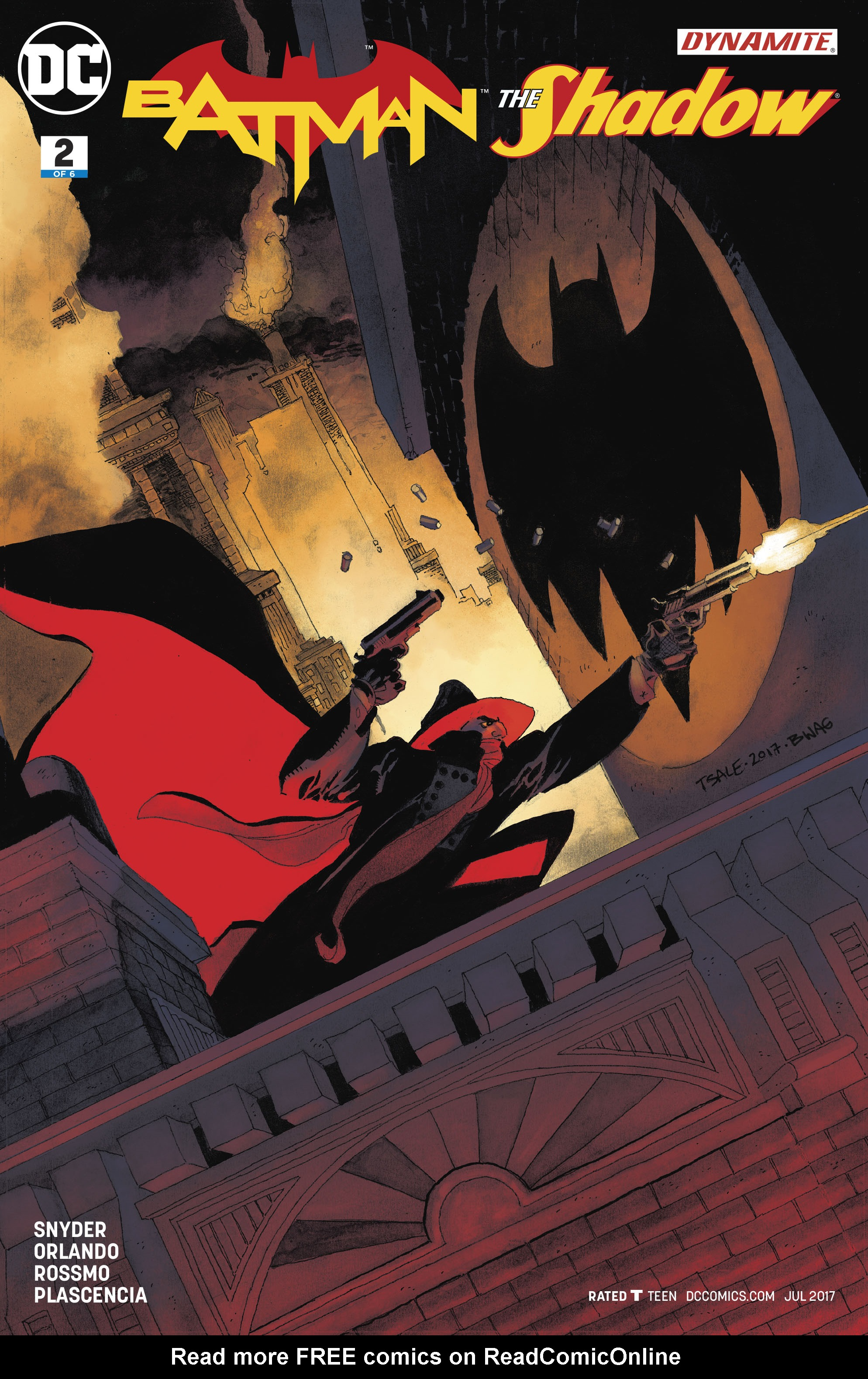 Read online Batman/Shadow comic -  Issue #2 - 4