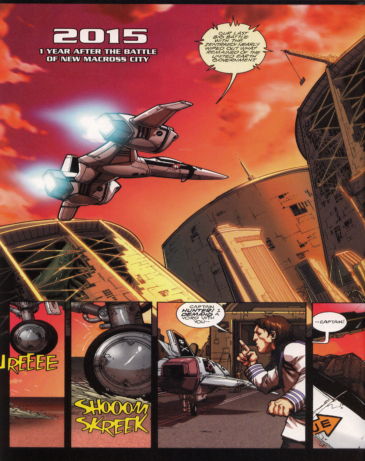 Robotech (2003) issue 0 - Page 11