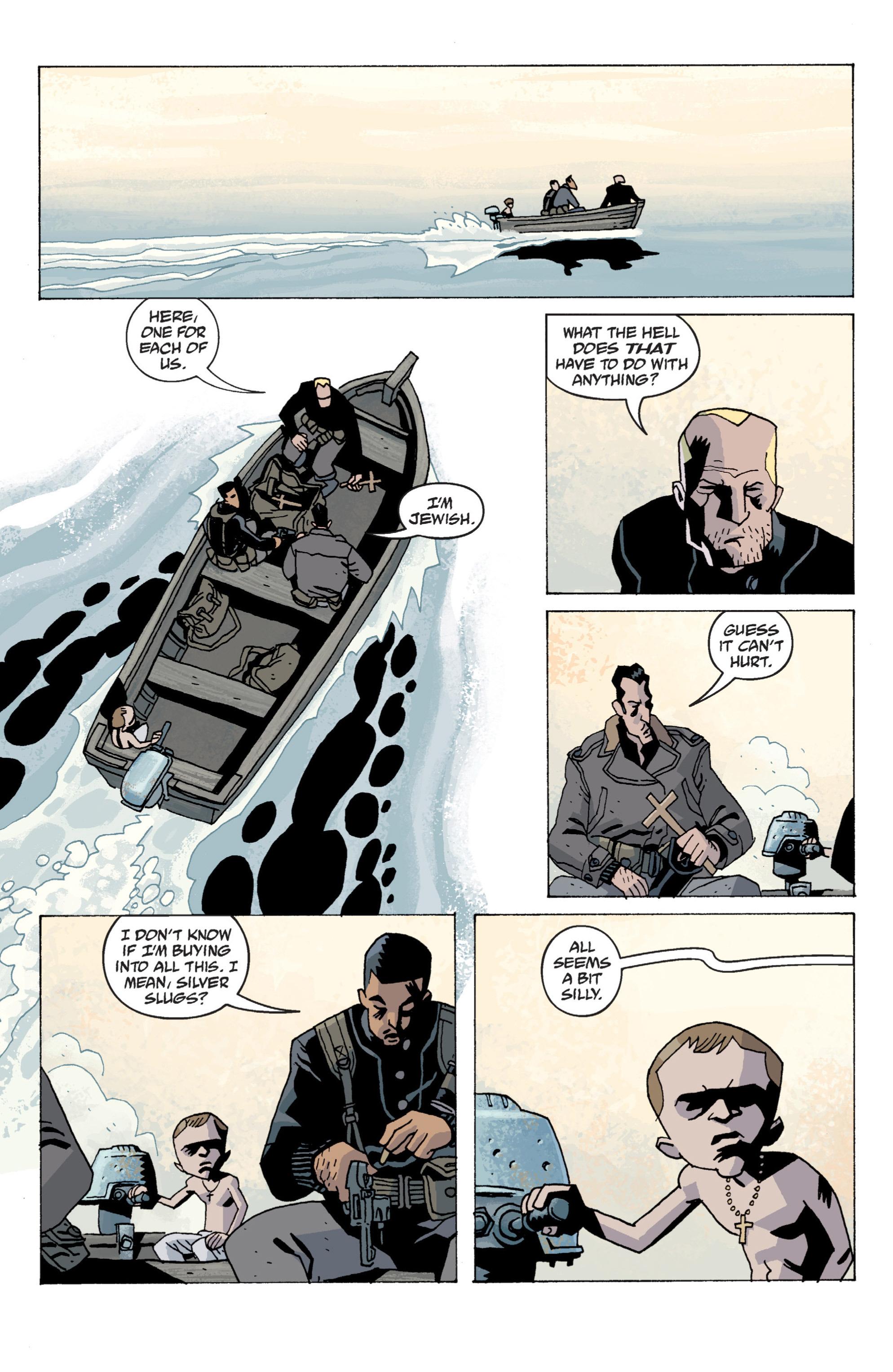 Read online B.P.R.D. (2003) comic -  Issue # TPB 13 - 52