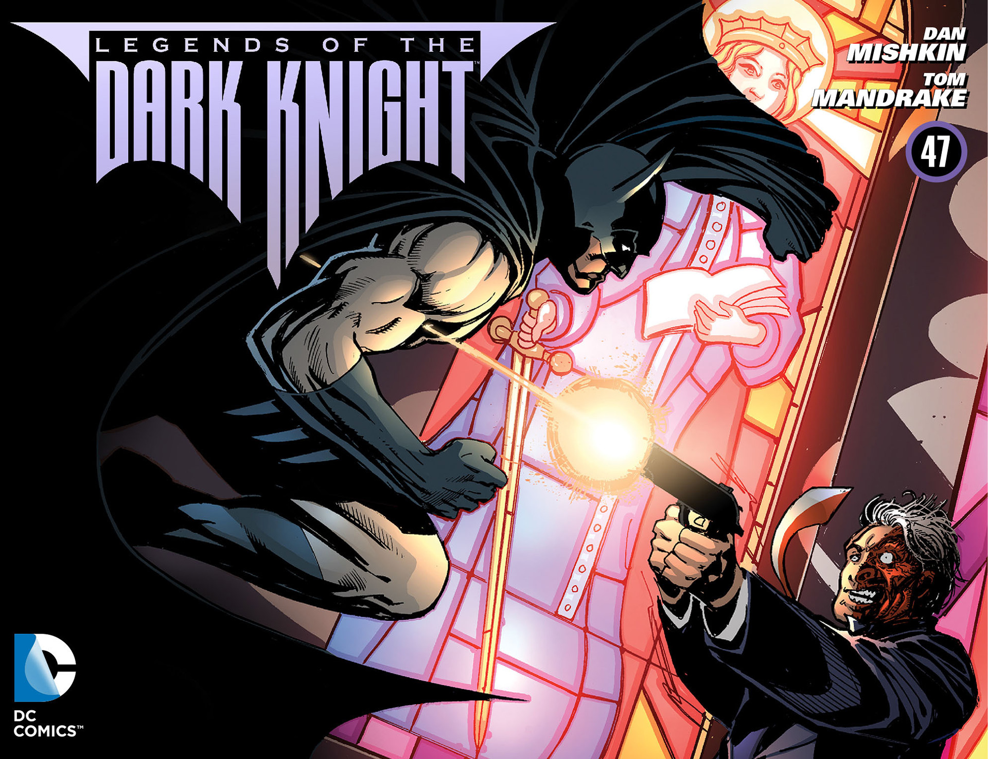 Legends of the Dark Knight [I] issue 47 - Page 1