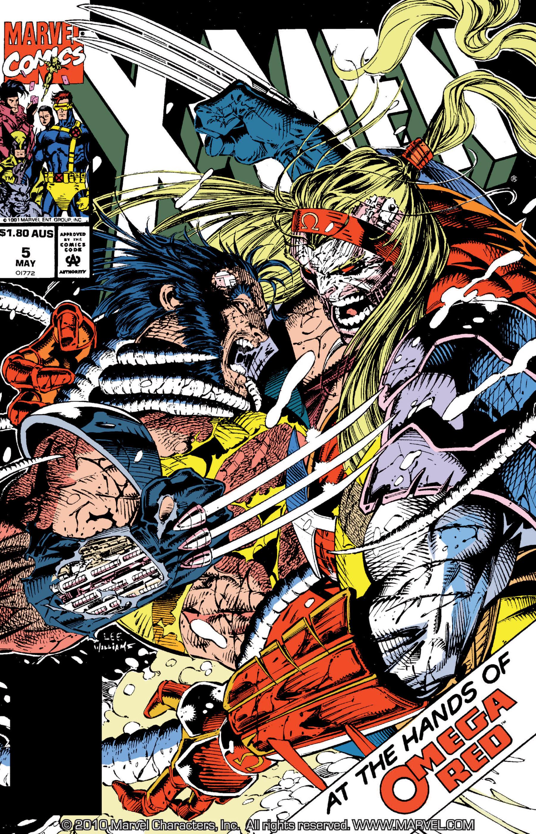X-Men (1991) 5 Page 0