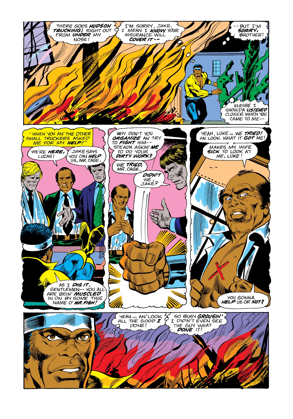 Read online Marvel Masterworks: Luke Cage, Power Man comic -  Issue # TPB 2 (Part 3) - 43
