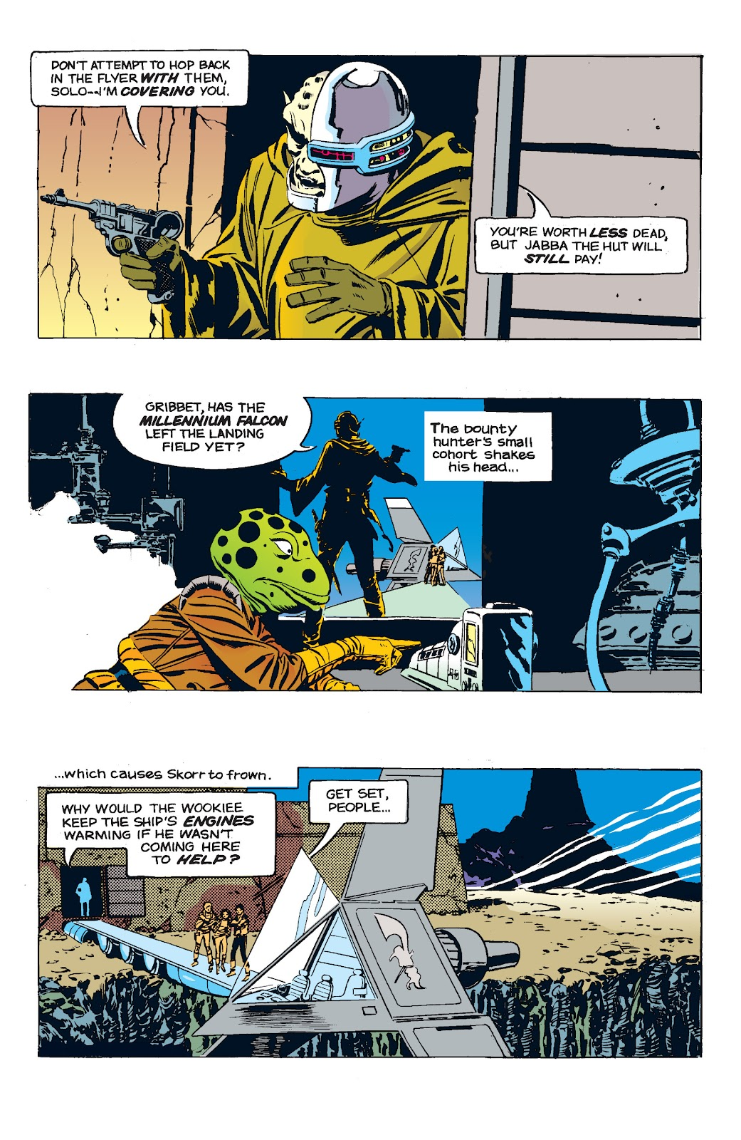 Read online Star Wars Legends: The Newspaper Strips - Epic Collection comic -  Issue # TPB (Part 5) - 12