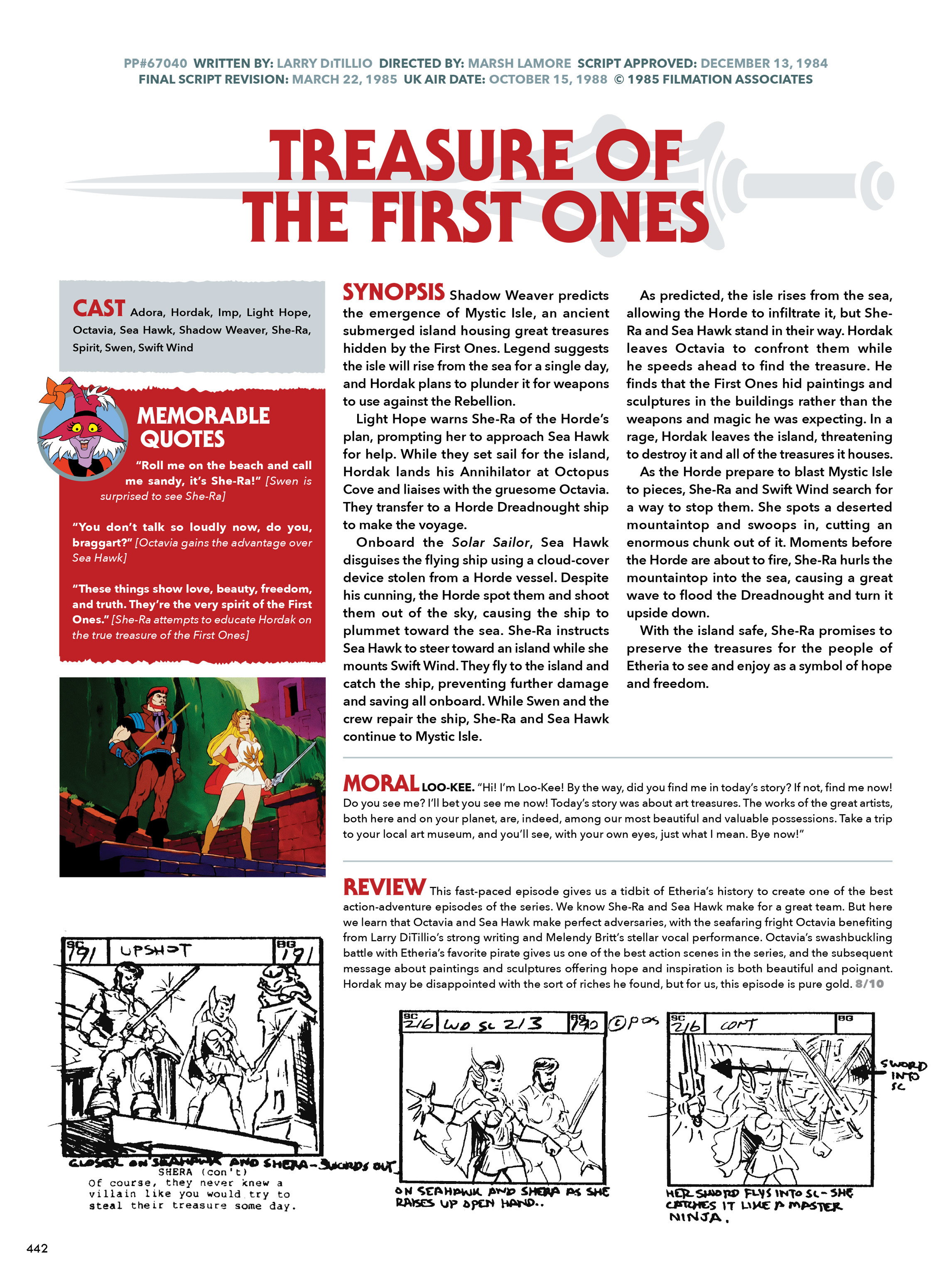 Read online He-Man and She-Ra: A Complete Guide to the Classic Animated Adventures comic -  Issue # TPB (Part 3) - 43