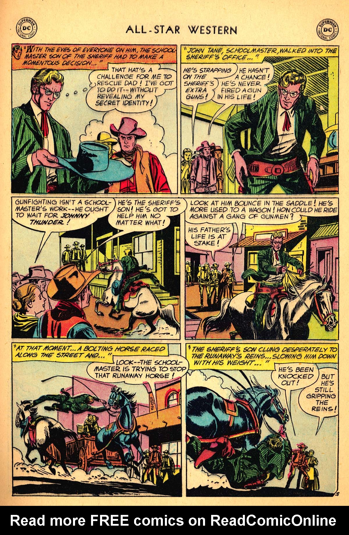 Read online All-Star Western (1951) comic -  Issue #99 - 29
