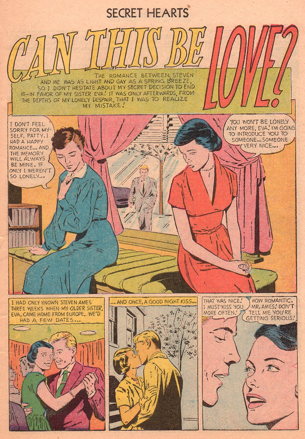 Read online Secret Hearts comic -  Issue #27 - 19