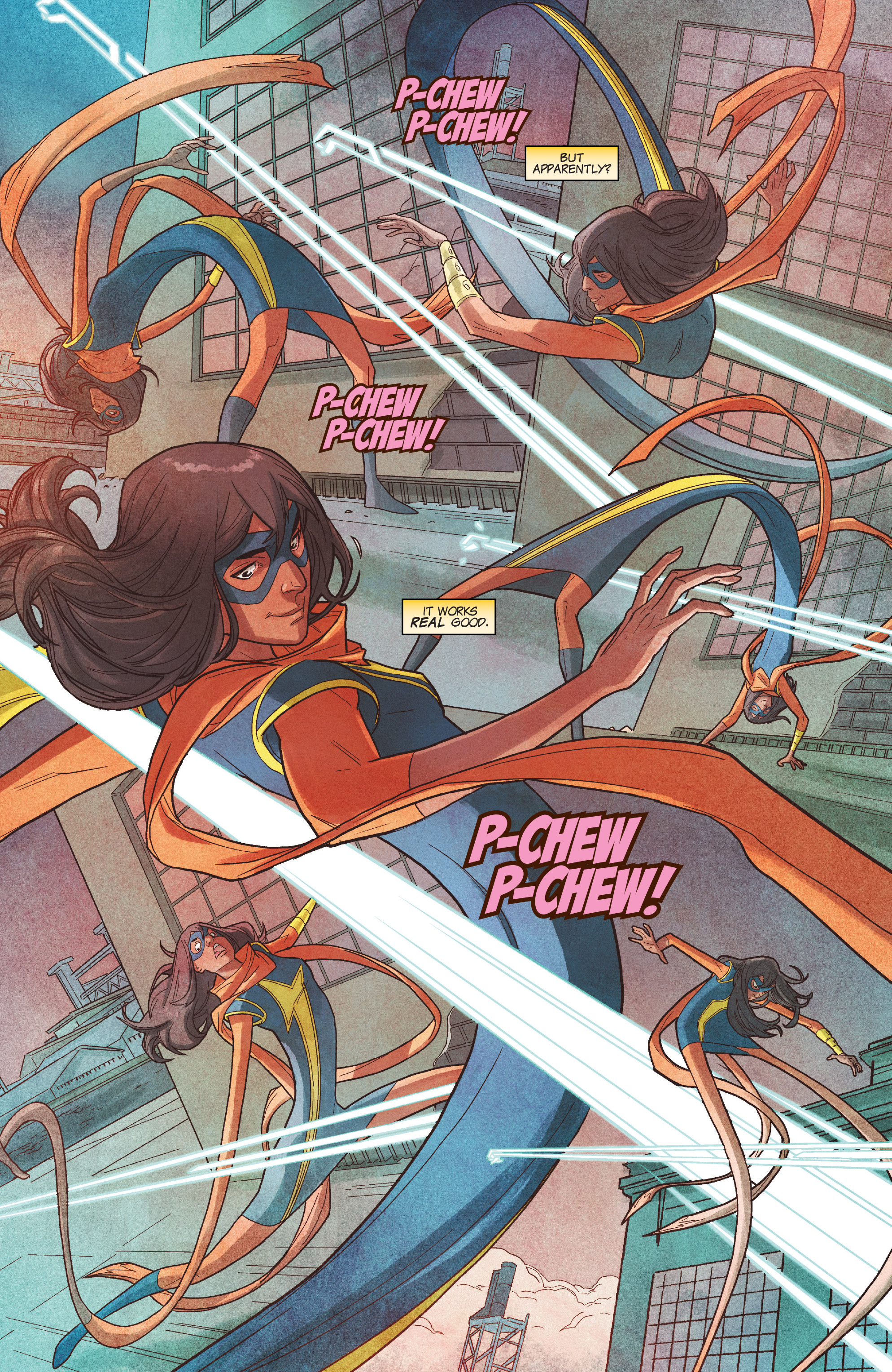 Read online Ms. Marvel (2016) comic -  Issue #19 - 16