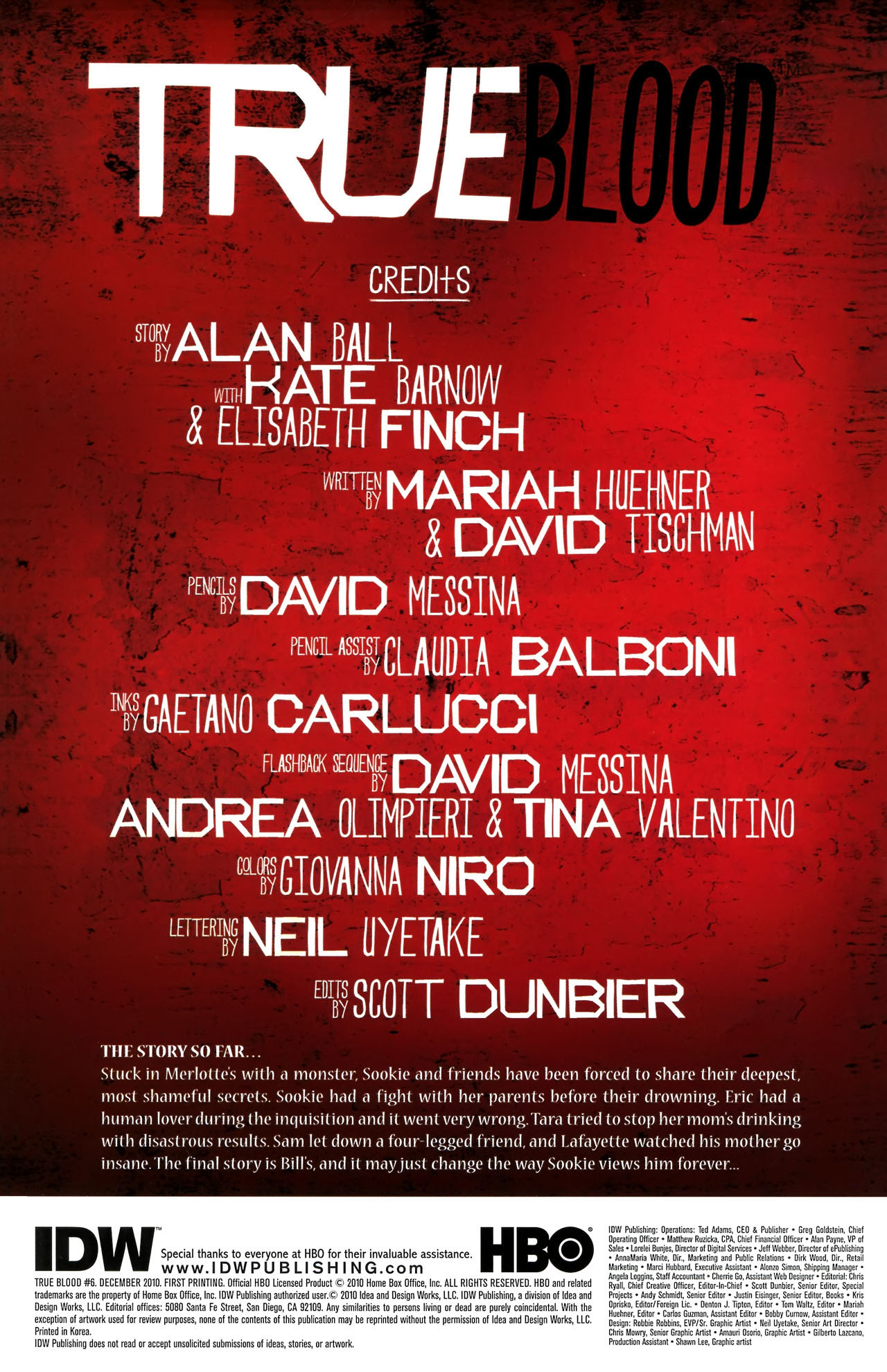Read online True Blood (2010) comic -  Issue #6 - 3