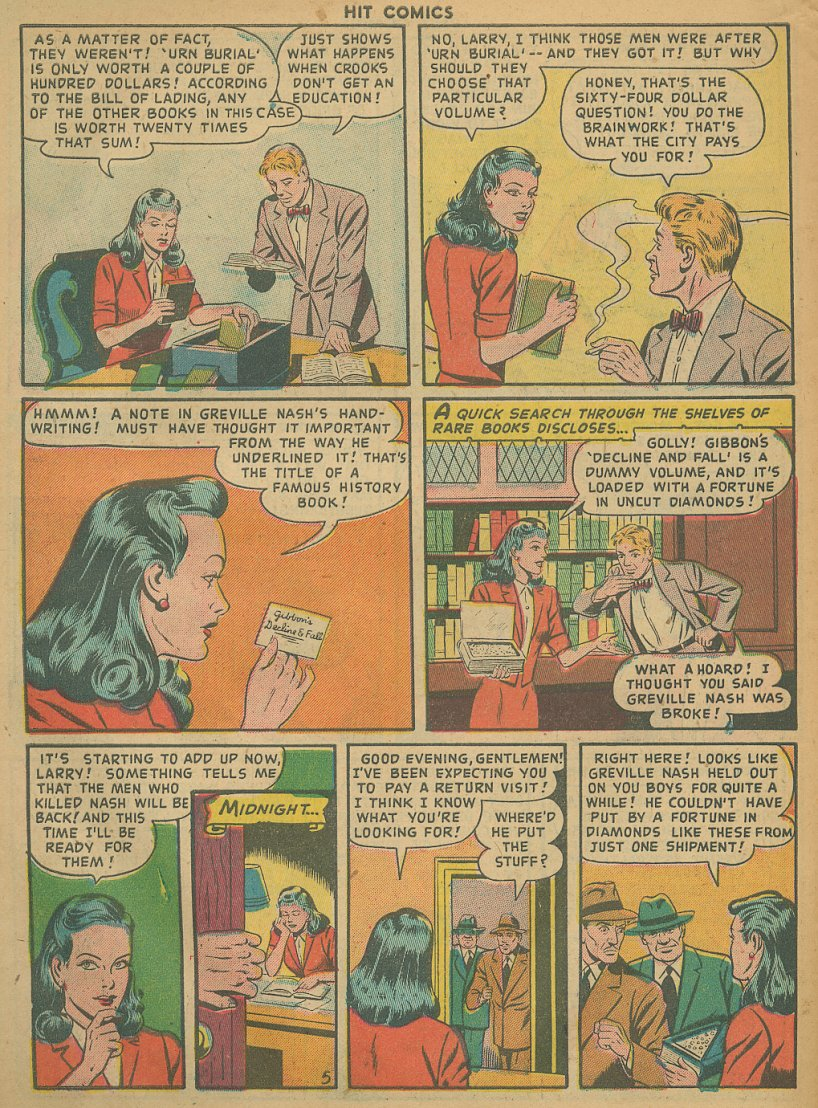 Read online Hit Comics comic -  Issue #61 - 32